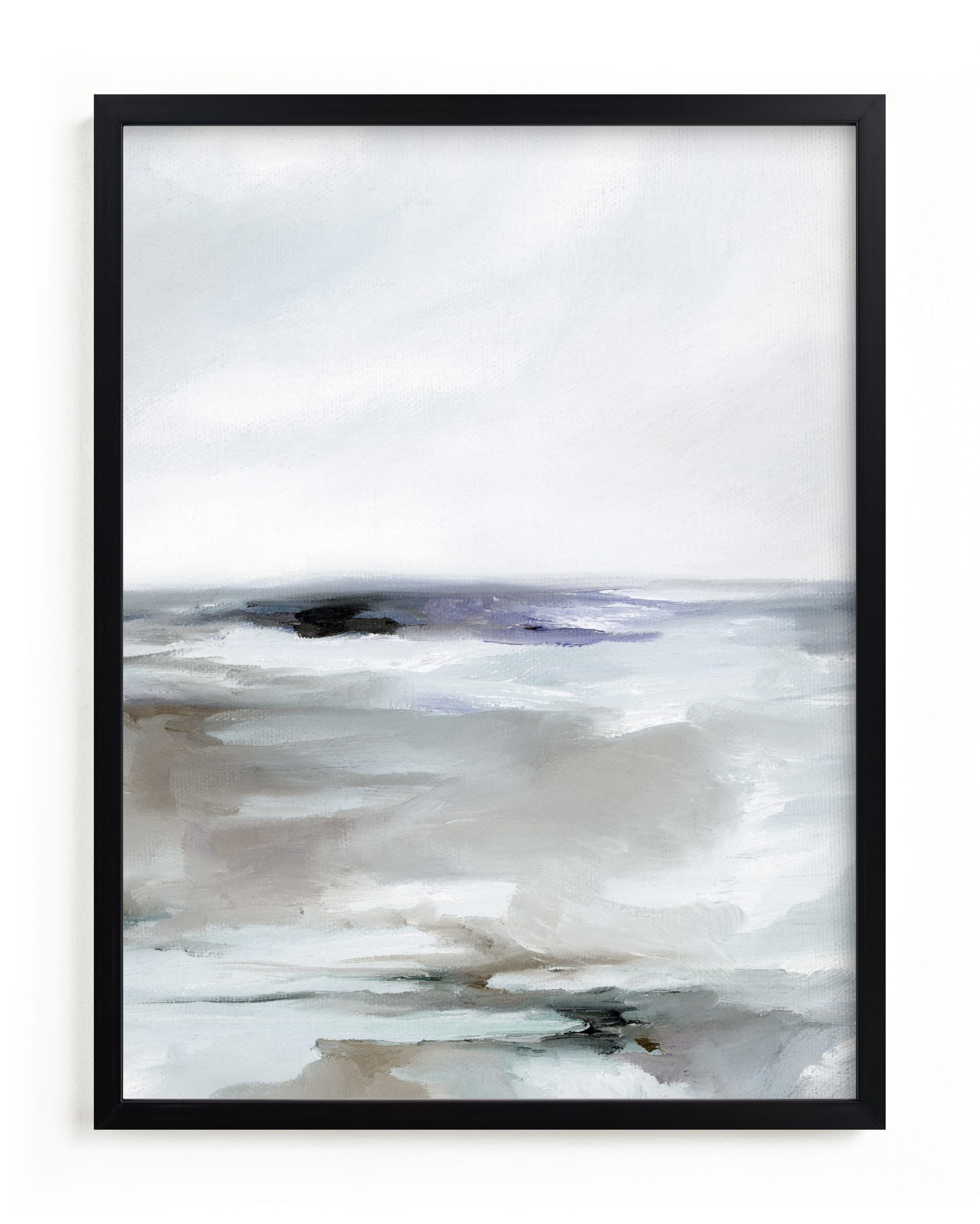 """""""Sweeping Azure II"""" - Limited Edition Art Print by Nicoletta Savod in beautiful frame options and a variety of sizes."""