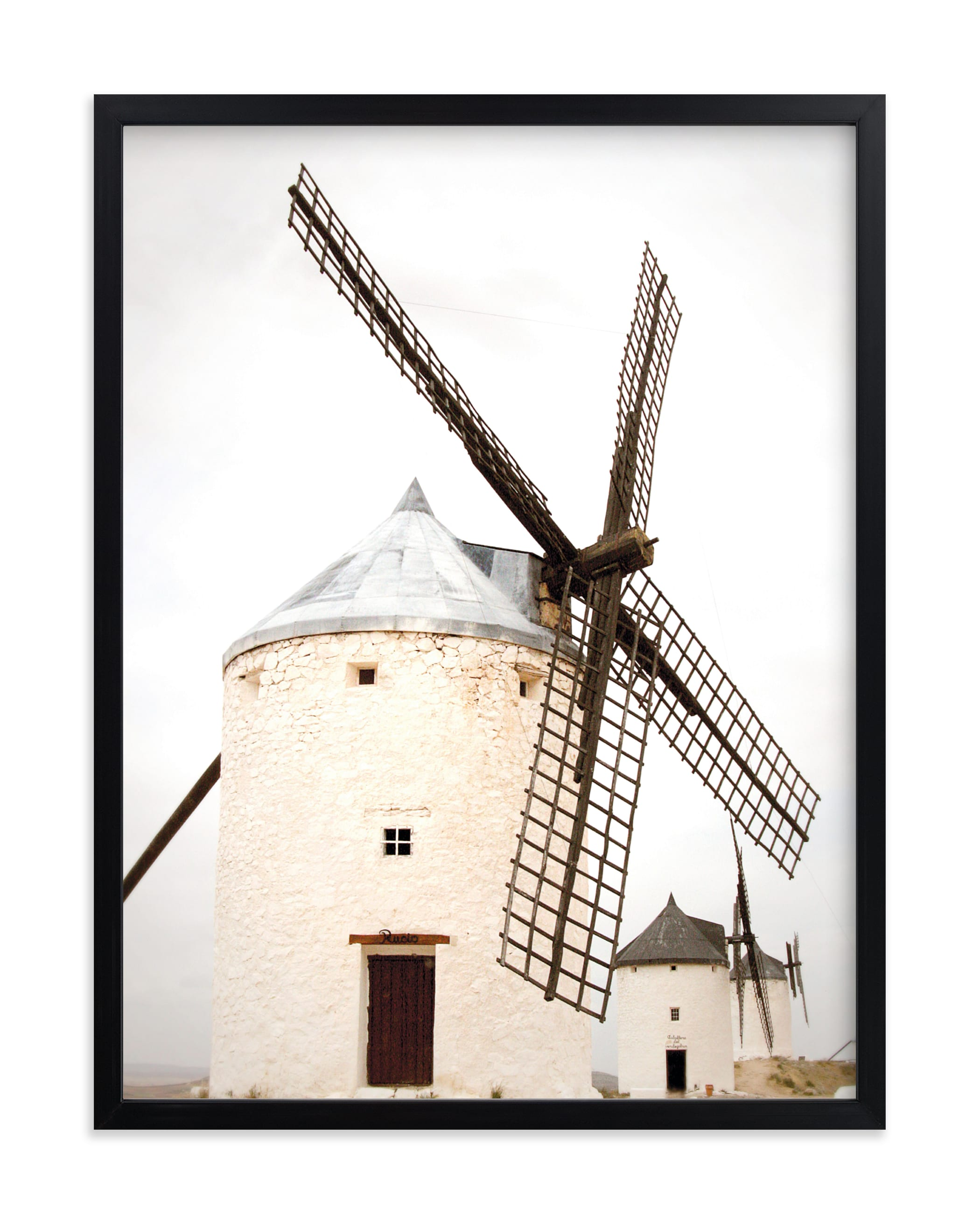 """""""Consuegra"""" - Limited Edition Art Print by Sharon Rowan in beautiful frame options and a variety of sizes."""
