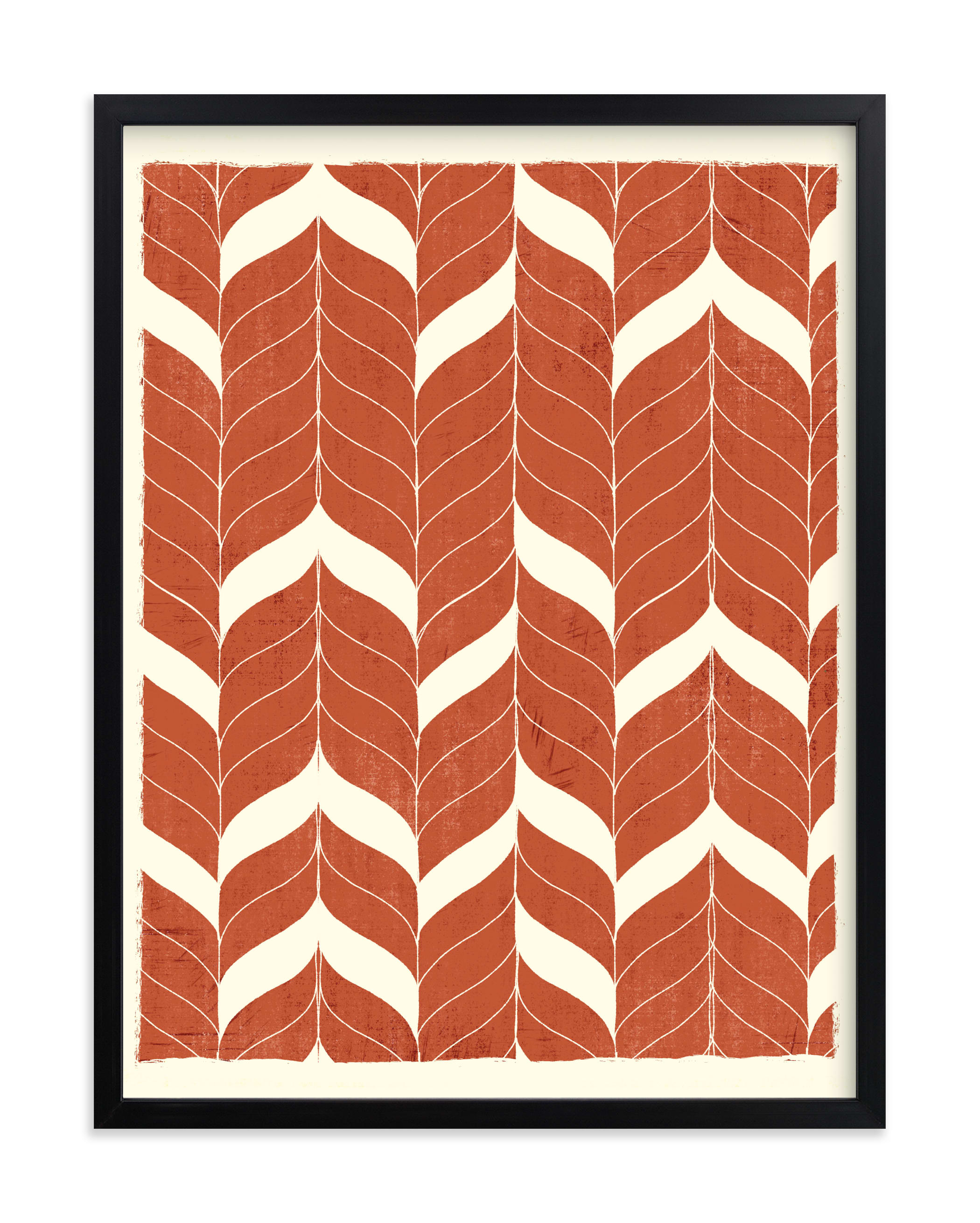 Chevron Flow Art Print