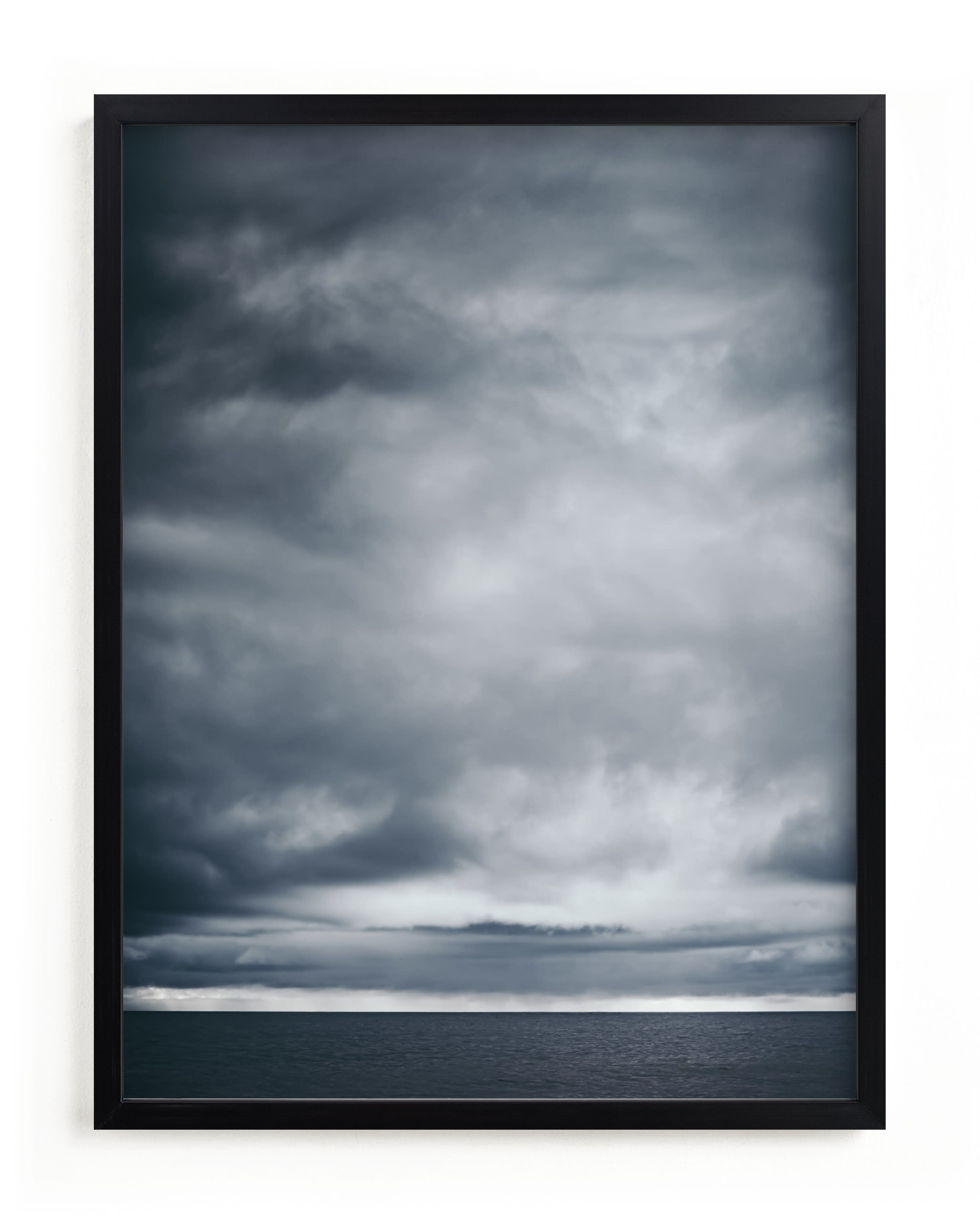 """""""moody blues 1"""" - Limited Edition Art Print by Kamala Nahas in beautiful frame options and a variety of sizes."""