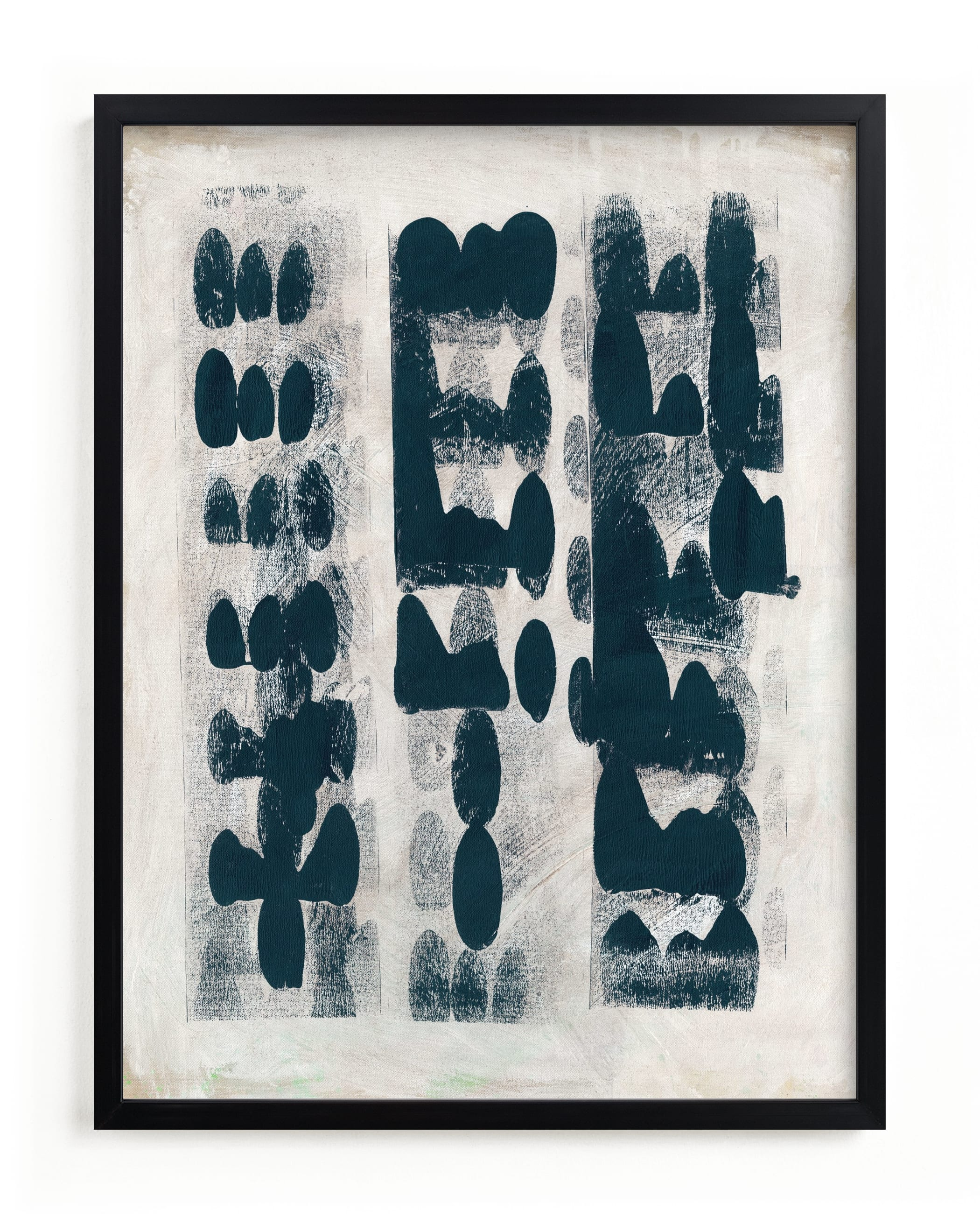 """""""Domino Effect"""" - Limited Edition Art Print by Lorent and Leif in beautiful frame options and a variety of sizes."""