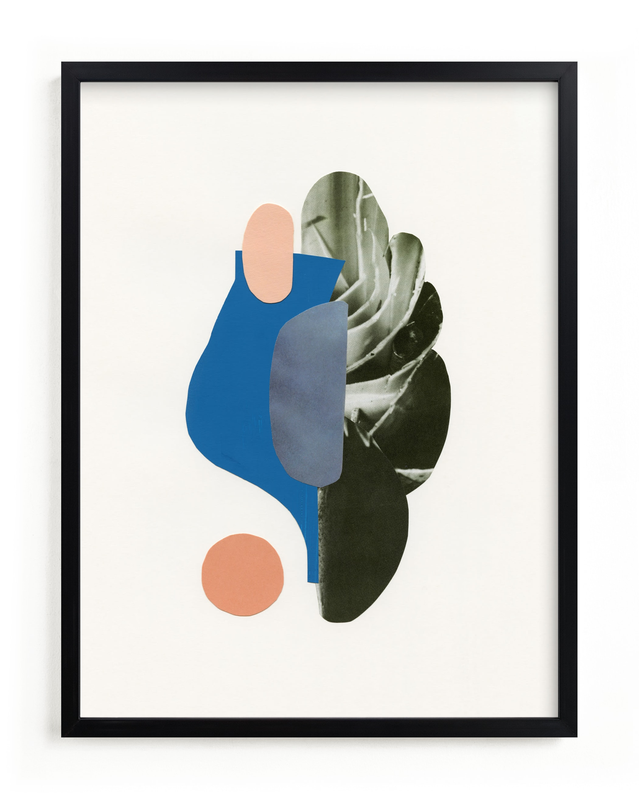 Organic Curves II Art Print
