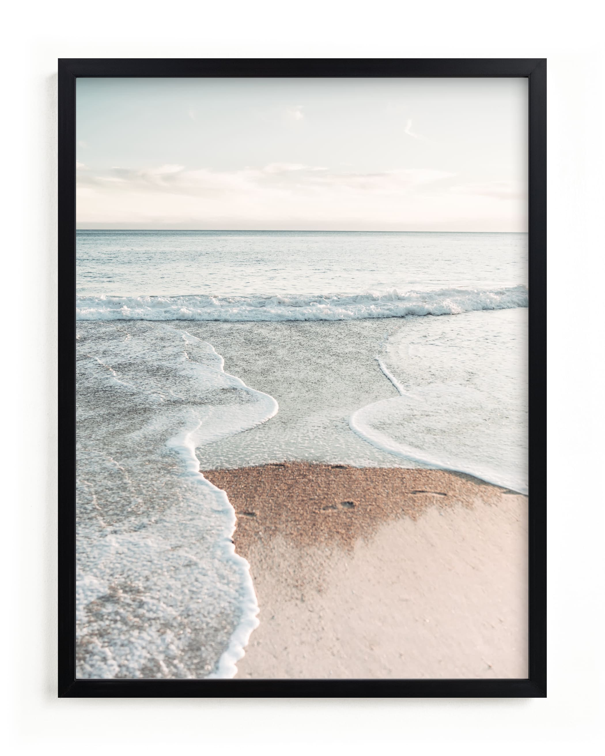 """""""Riptide"""" - Grownup Open Edition Non-custom Art Print by Kamala Nahas in beautiful frame options and a variety of sizes."""