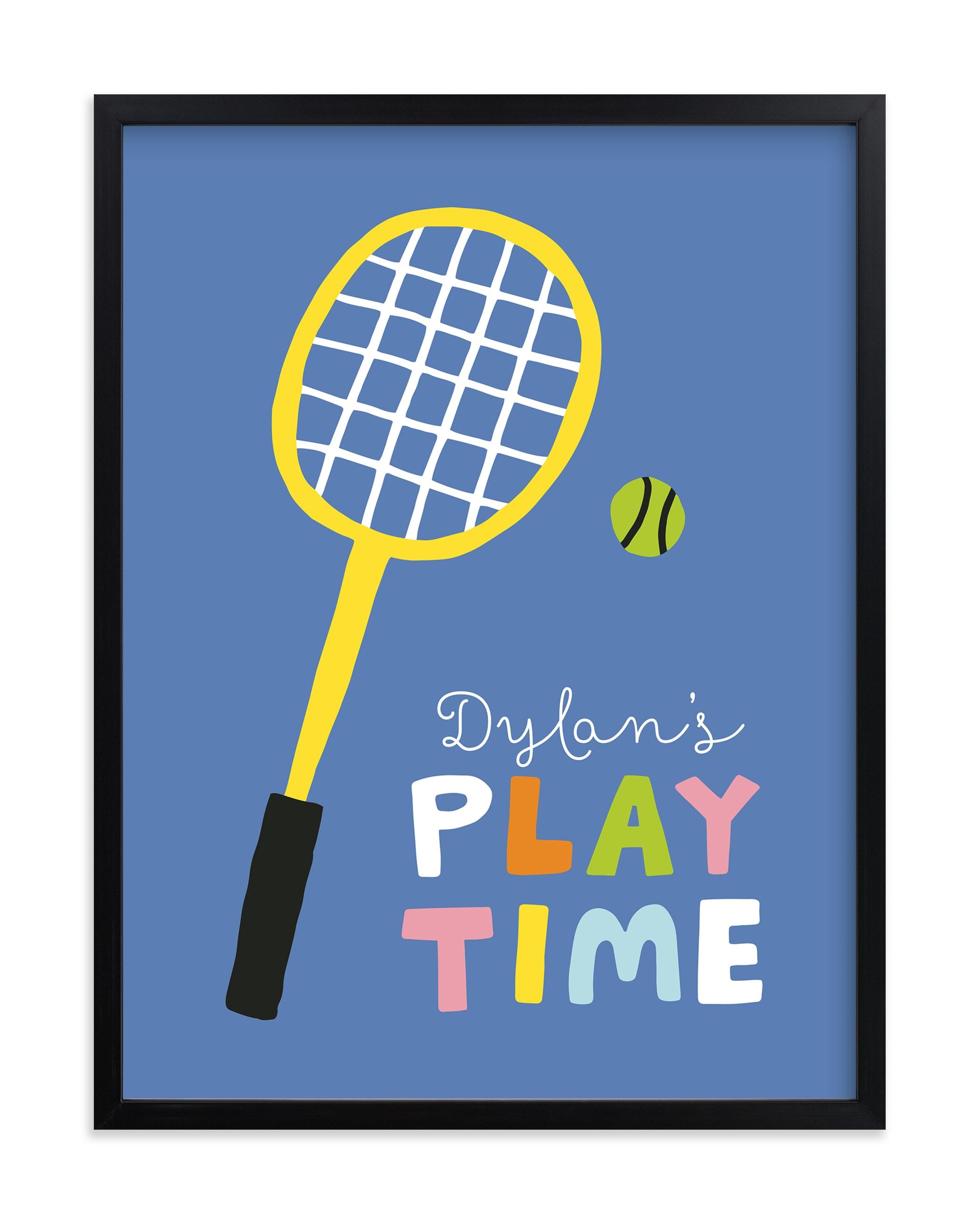 Play Time Children's Custom Art Print