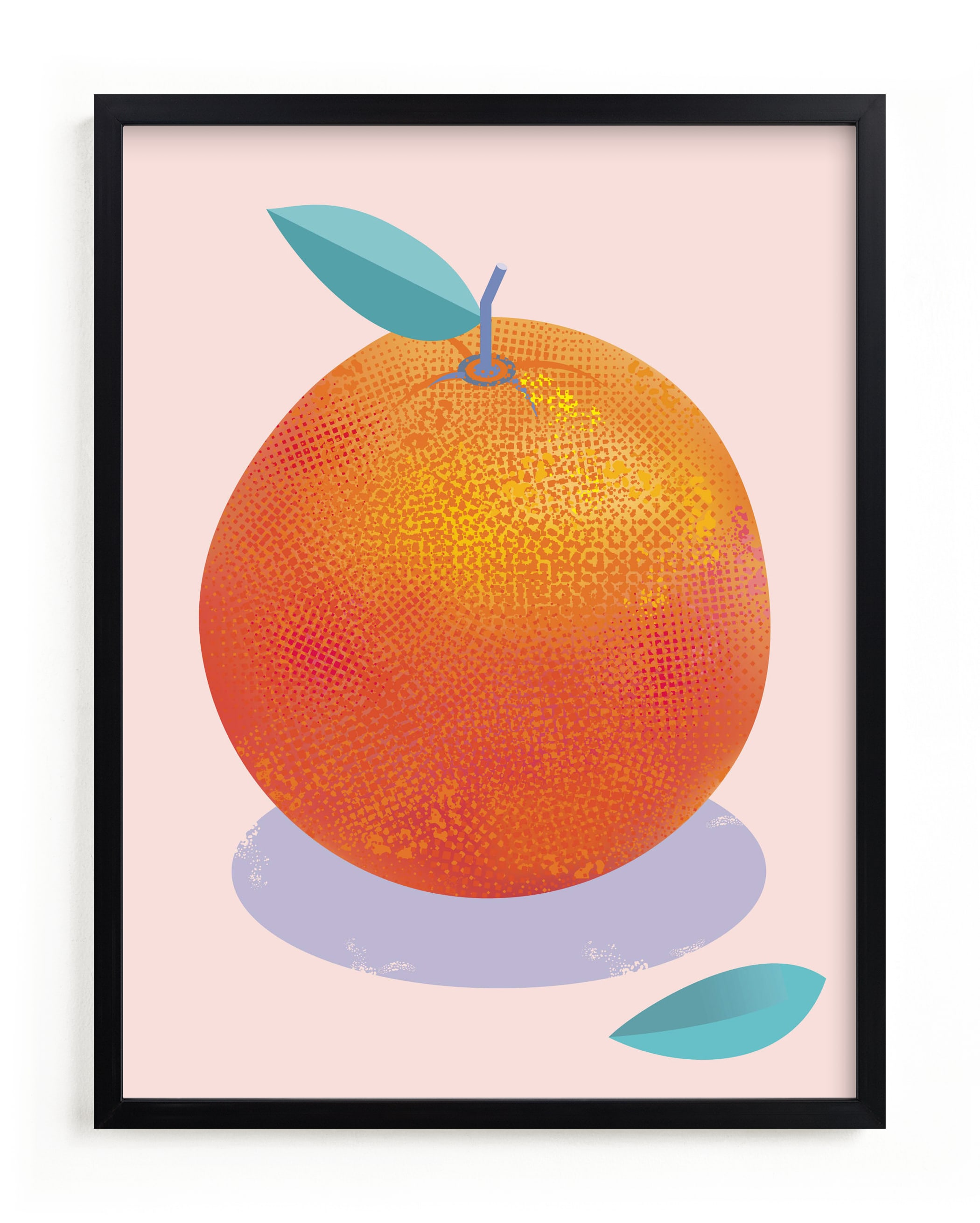 """Orange Freshness"" - Limited Edition Art Print by Stop-mashina in beautiful frame options and a variety of sizes."