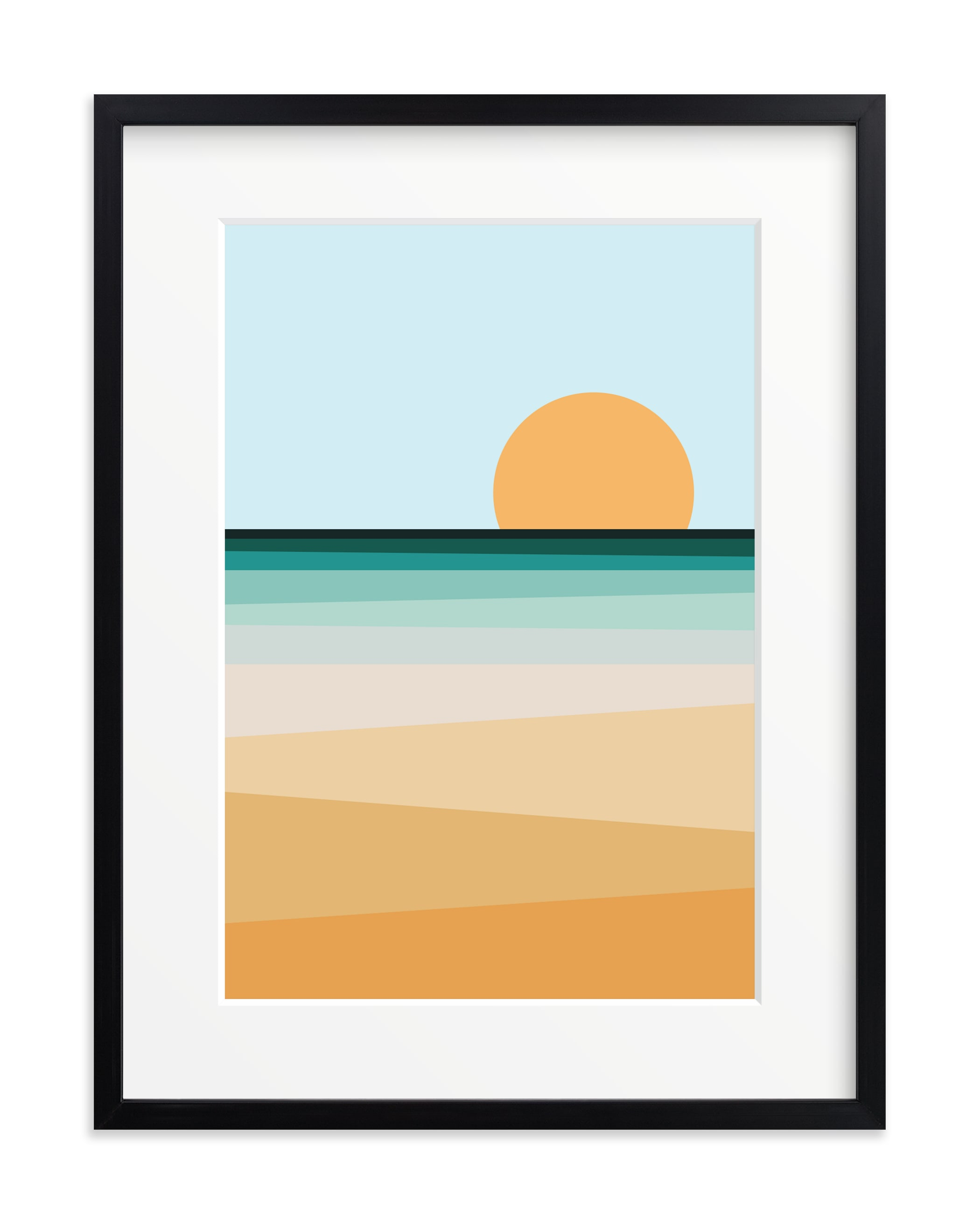 Sea Side II Children's Art Print