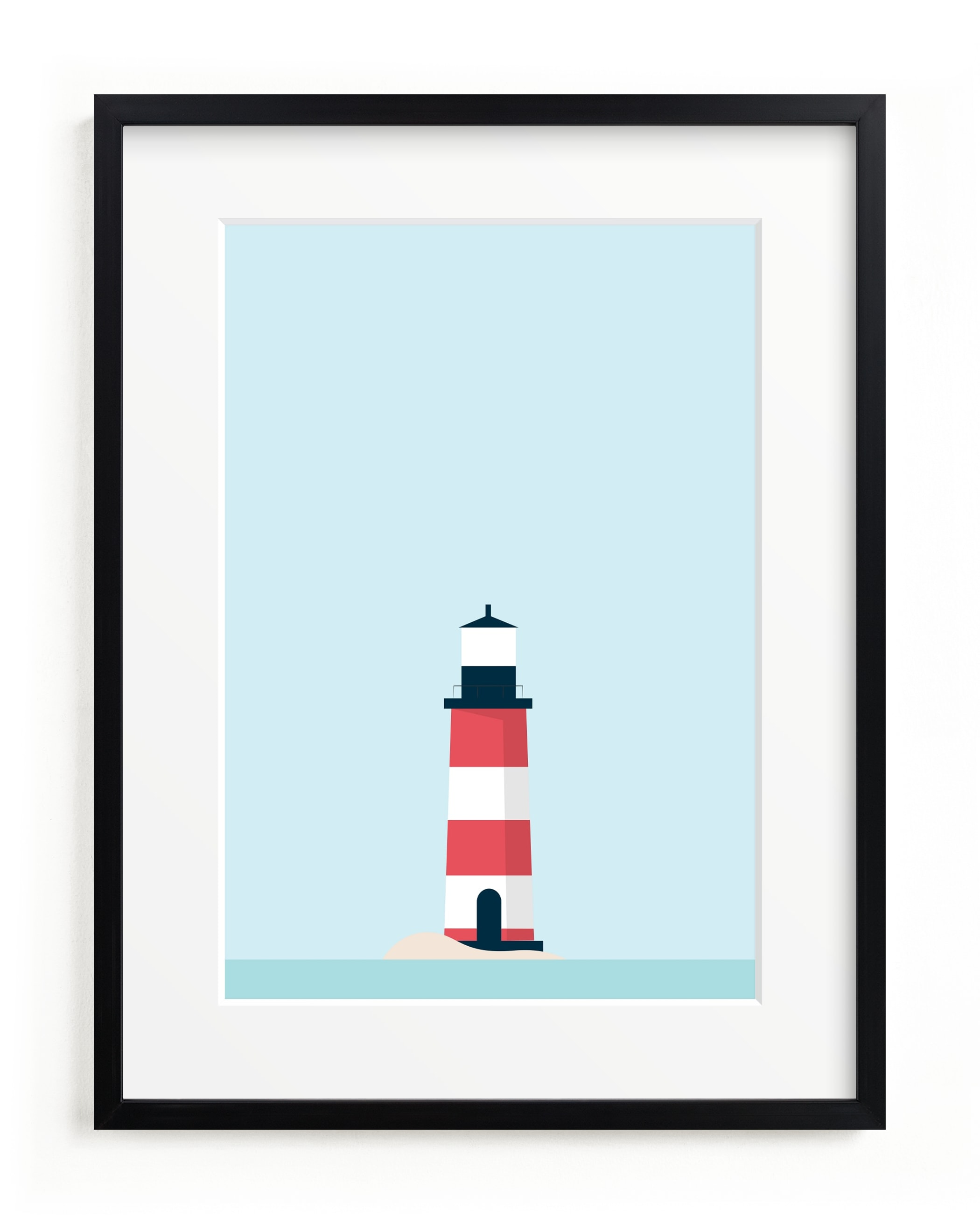 Sea side Children's Art Print