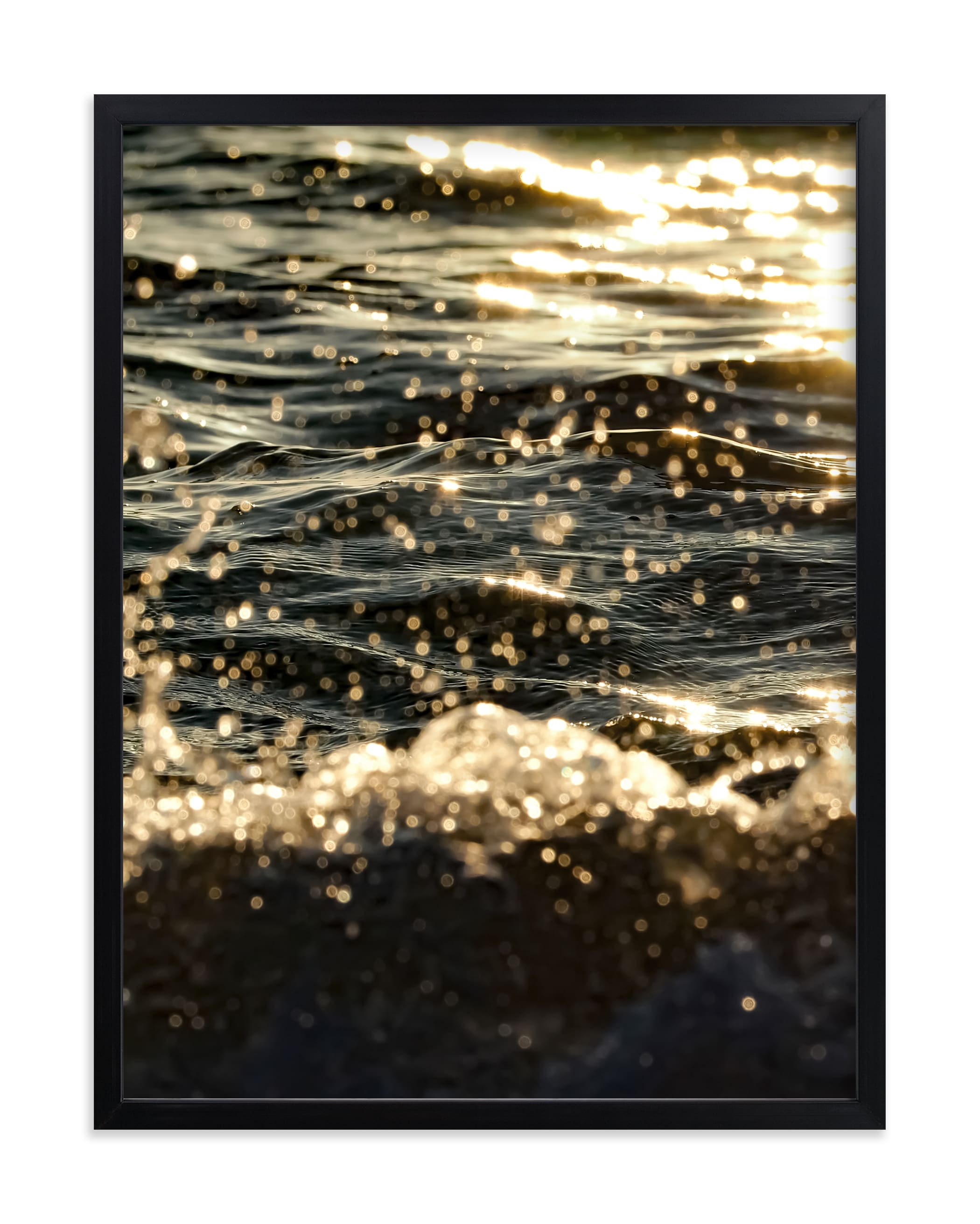 """""""Sea Sparkle I"""" by KIMBERLY SMITH in beautiful frame options and a variety of sizes."""