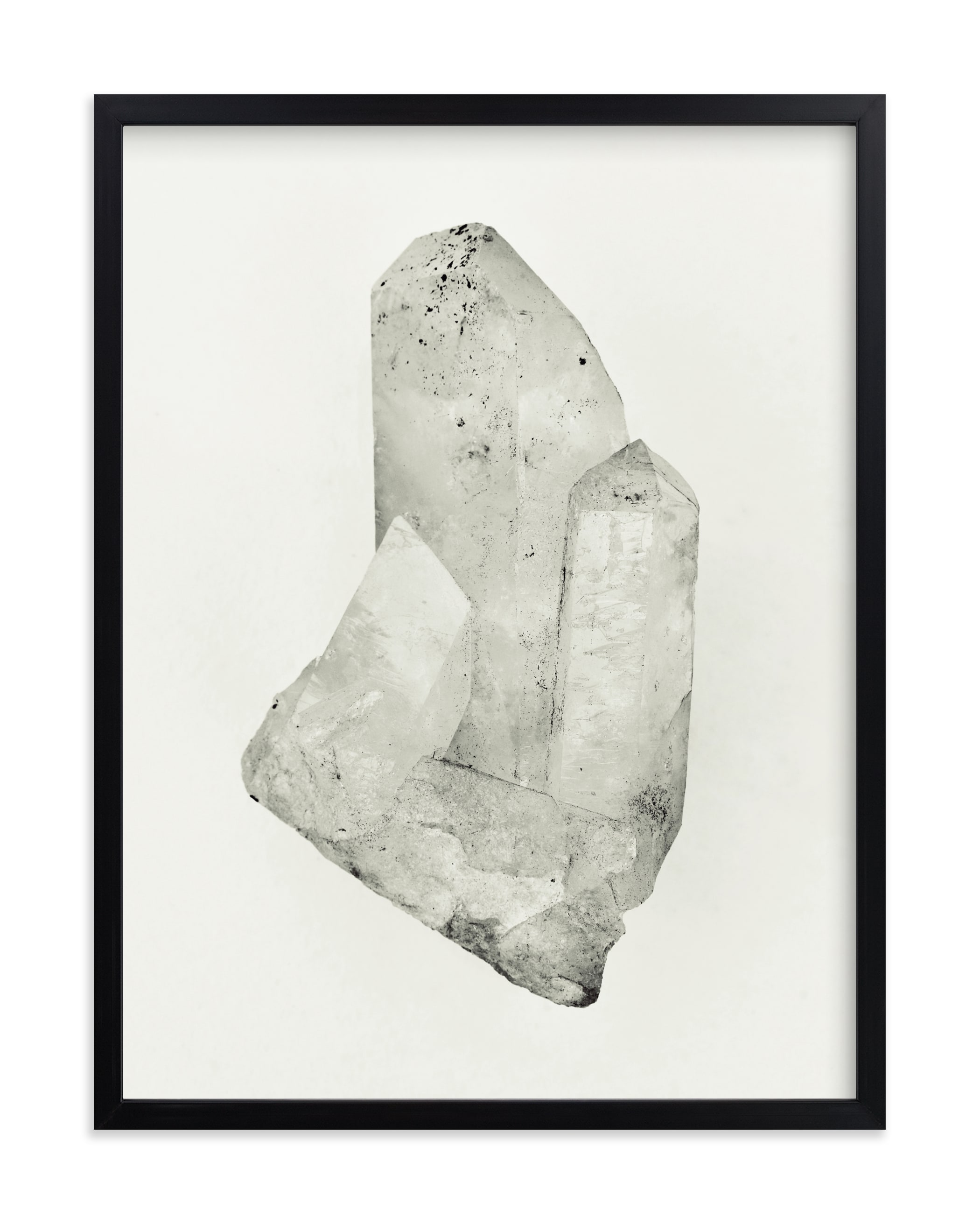 """""""Quartz Crystal #1"""" by Field and Sky in beautiful frame options and a variety of sizes."""