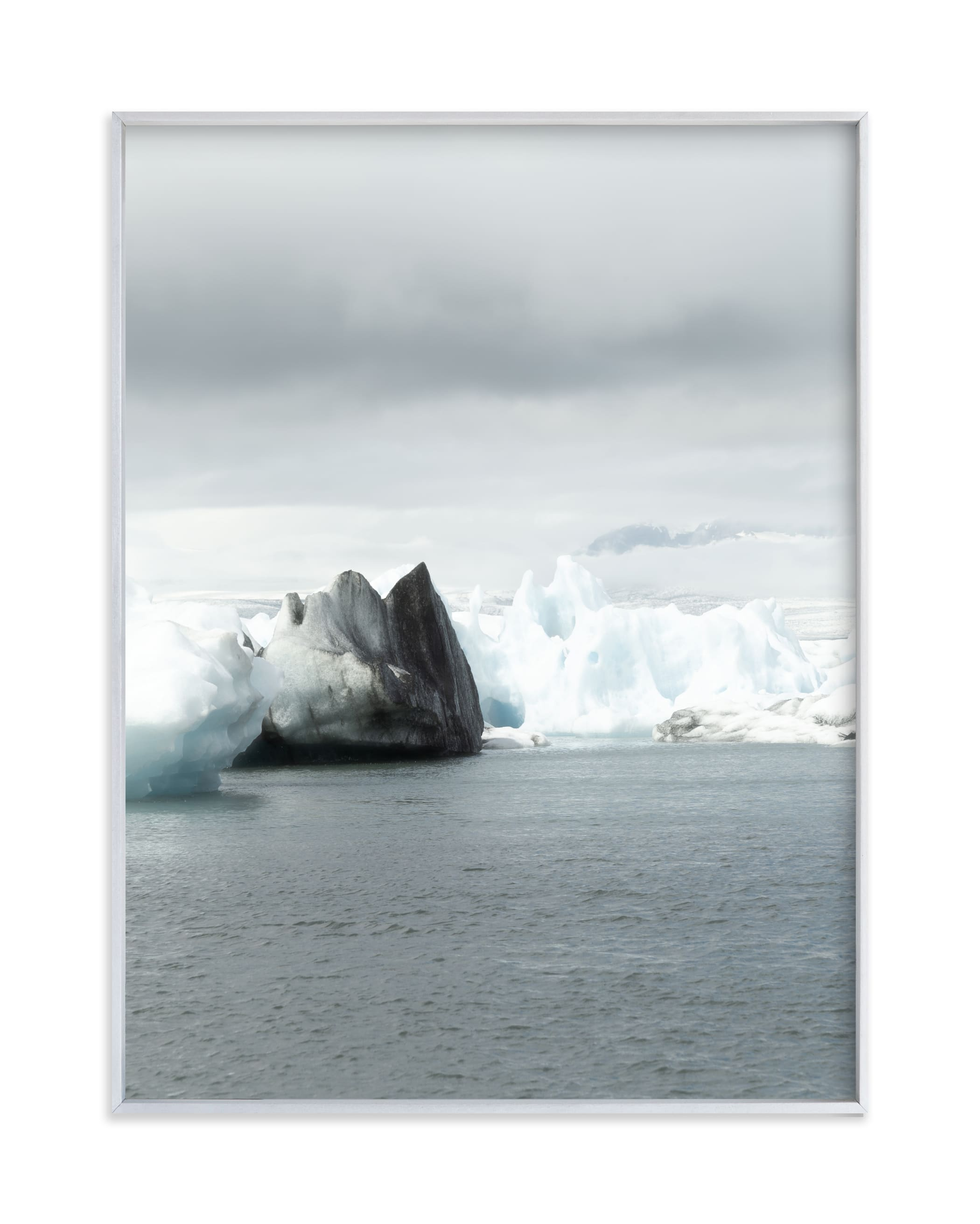 """form of ice #1"" by Van Tsao in beautiful frame options and a variety of sizes."