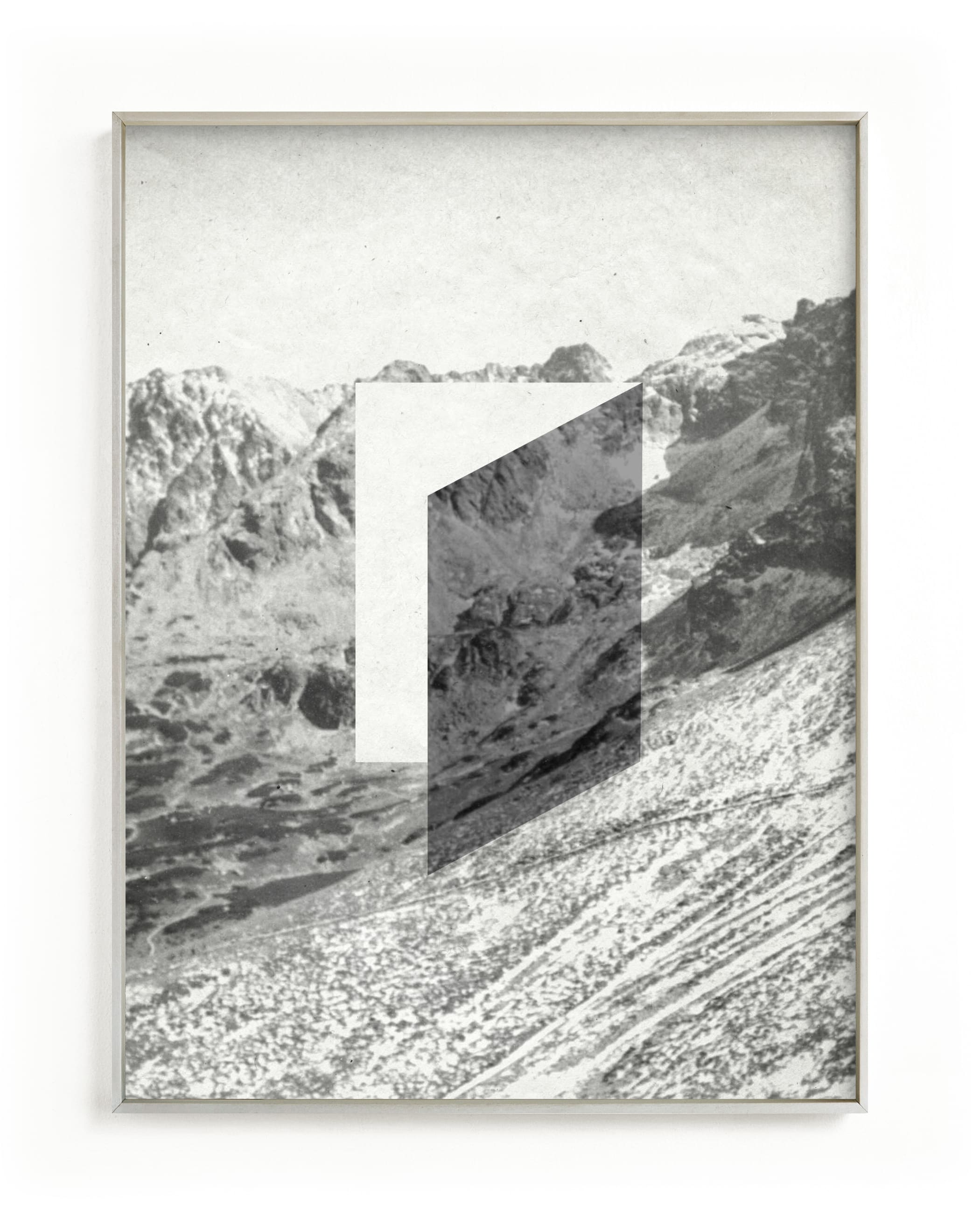 """""""Mountain View"""" - Grownup Open Edition Non-custom Art Print by Sumak Studio in beautiful frame options and a variety of sizes."""