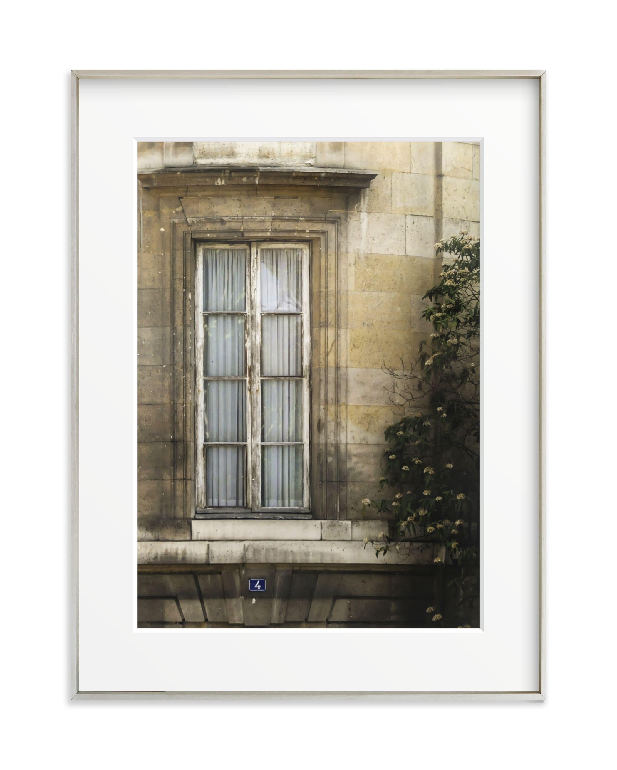 Saint Germain Window Art Print