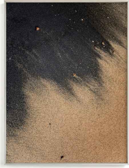This is a black art by Karly Rose Sahr called Black Sand II.