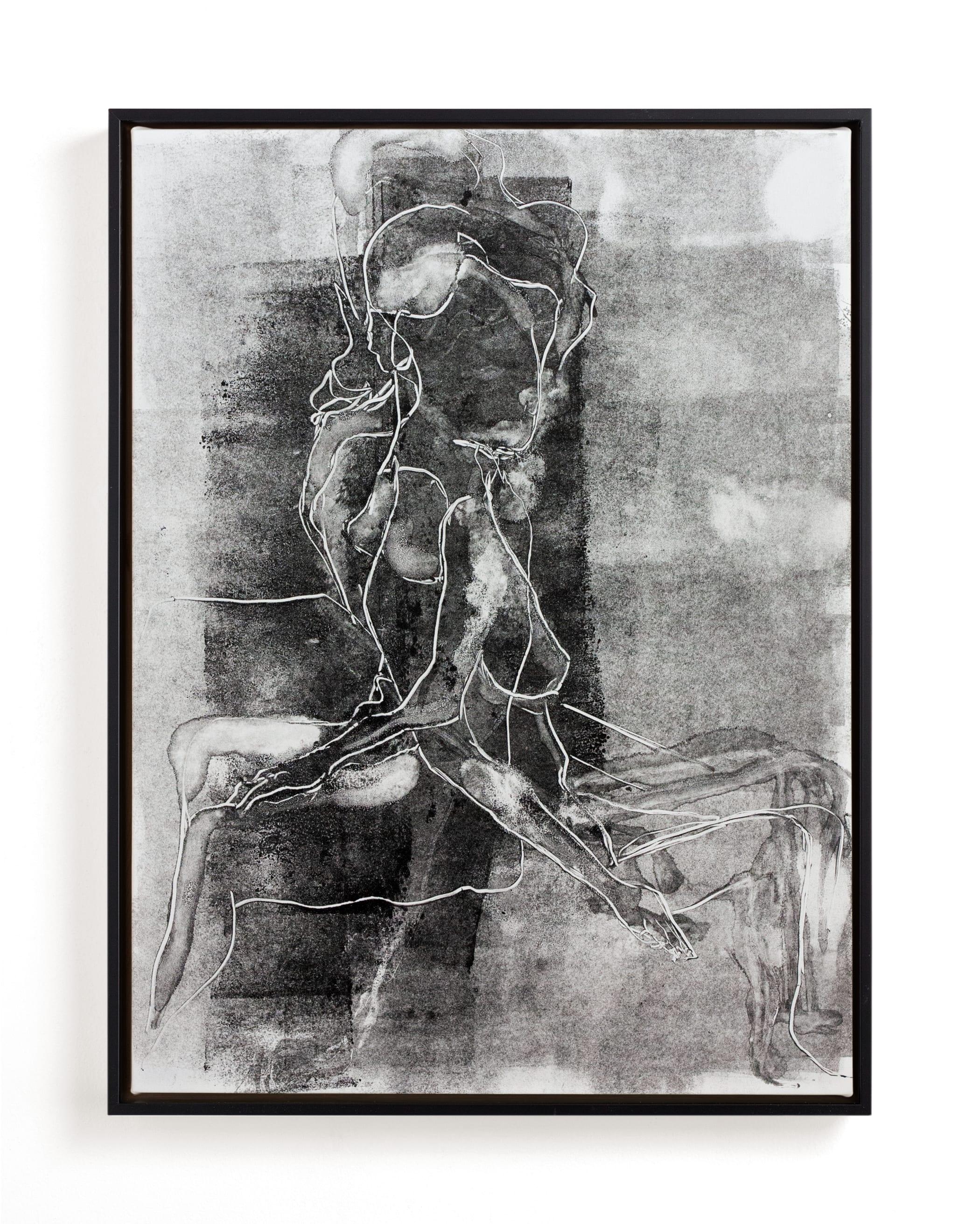 Figure on Figure Art Print