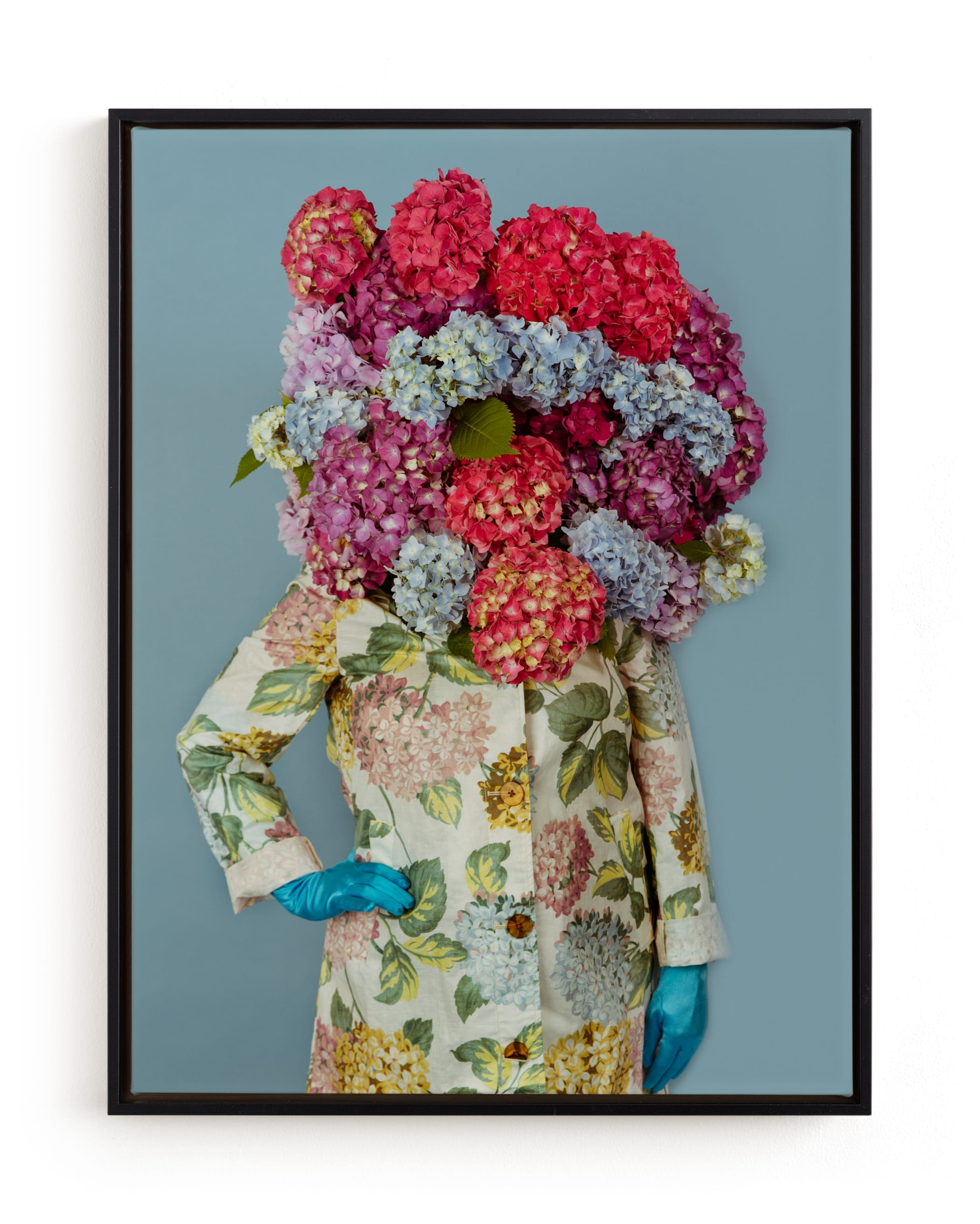 Shes Blooming Worth Art Print