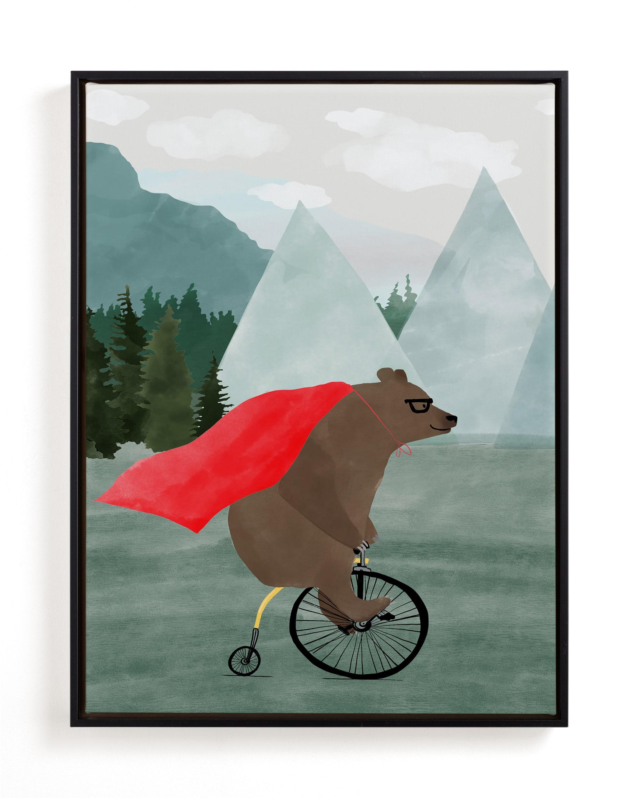PowBraveBear Children's Art Print