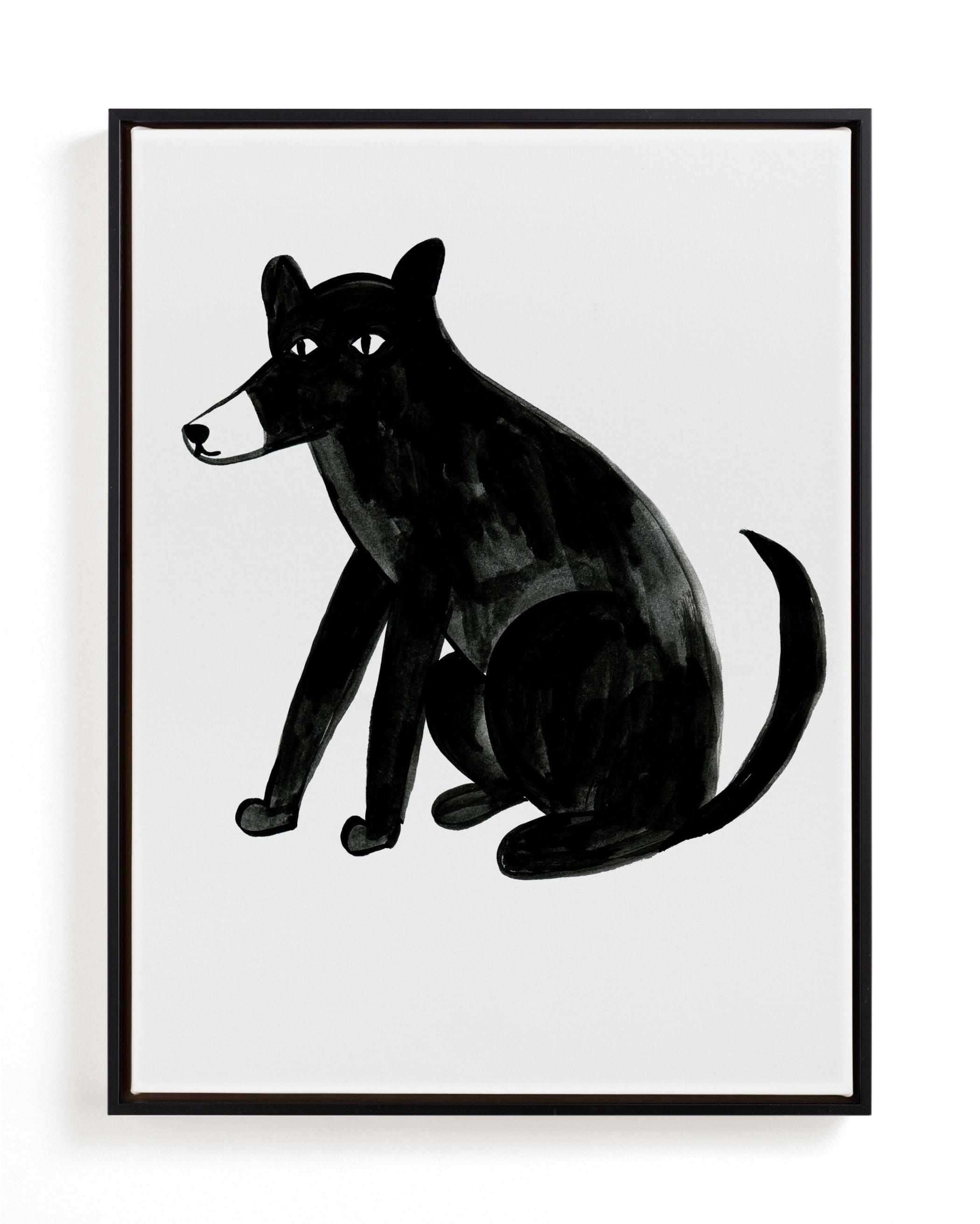 dog Children's Art Print