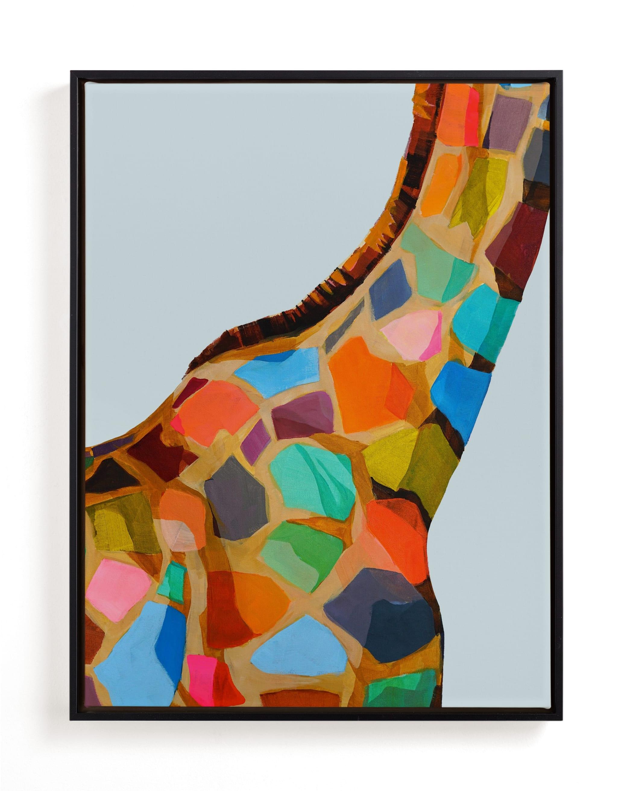 Safari Spots Children's Art Print