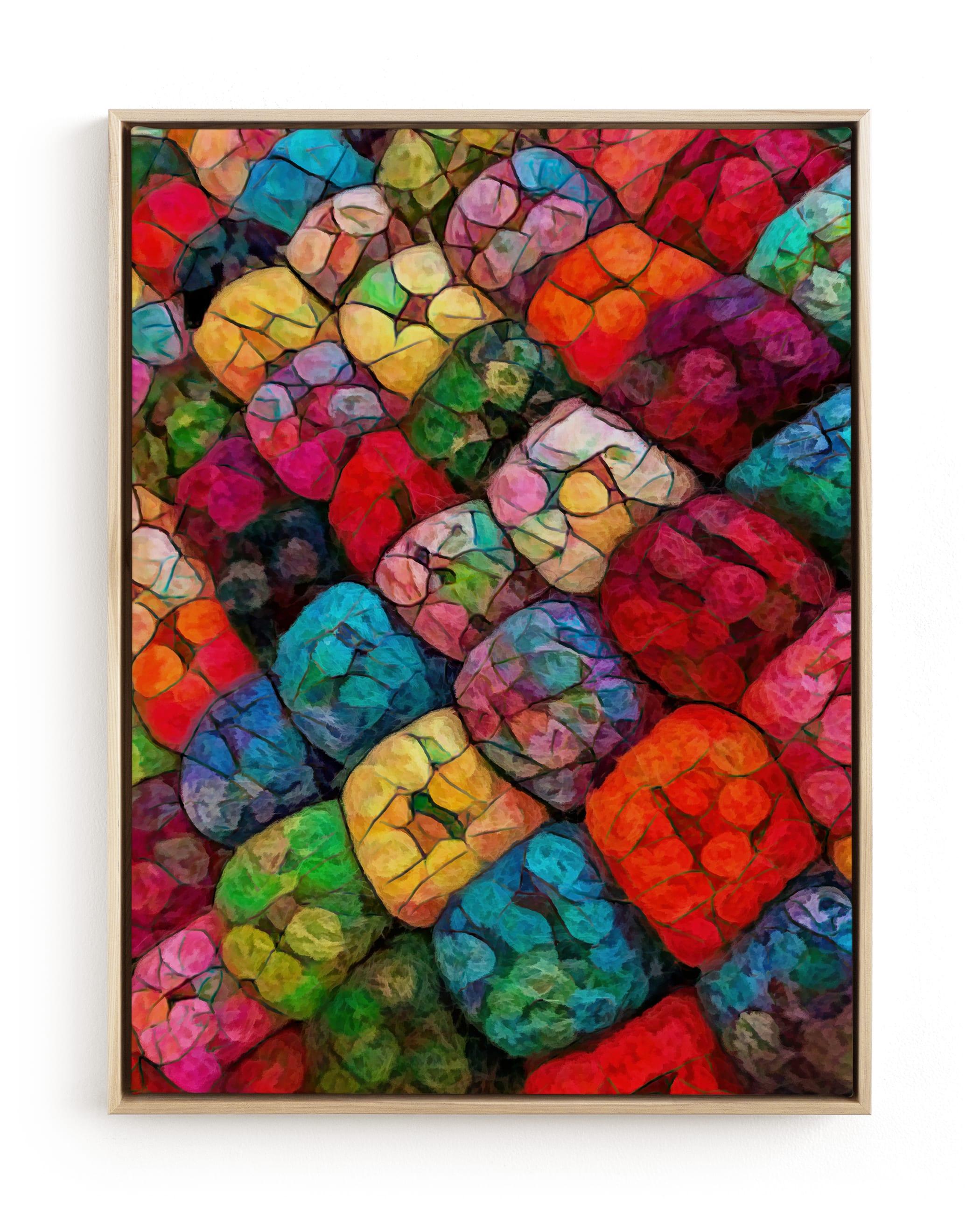 Abstract Felted Wool II Wall Art Print