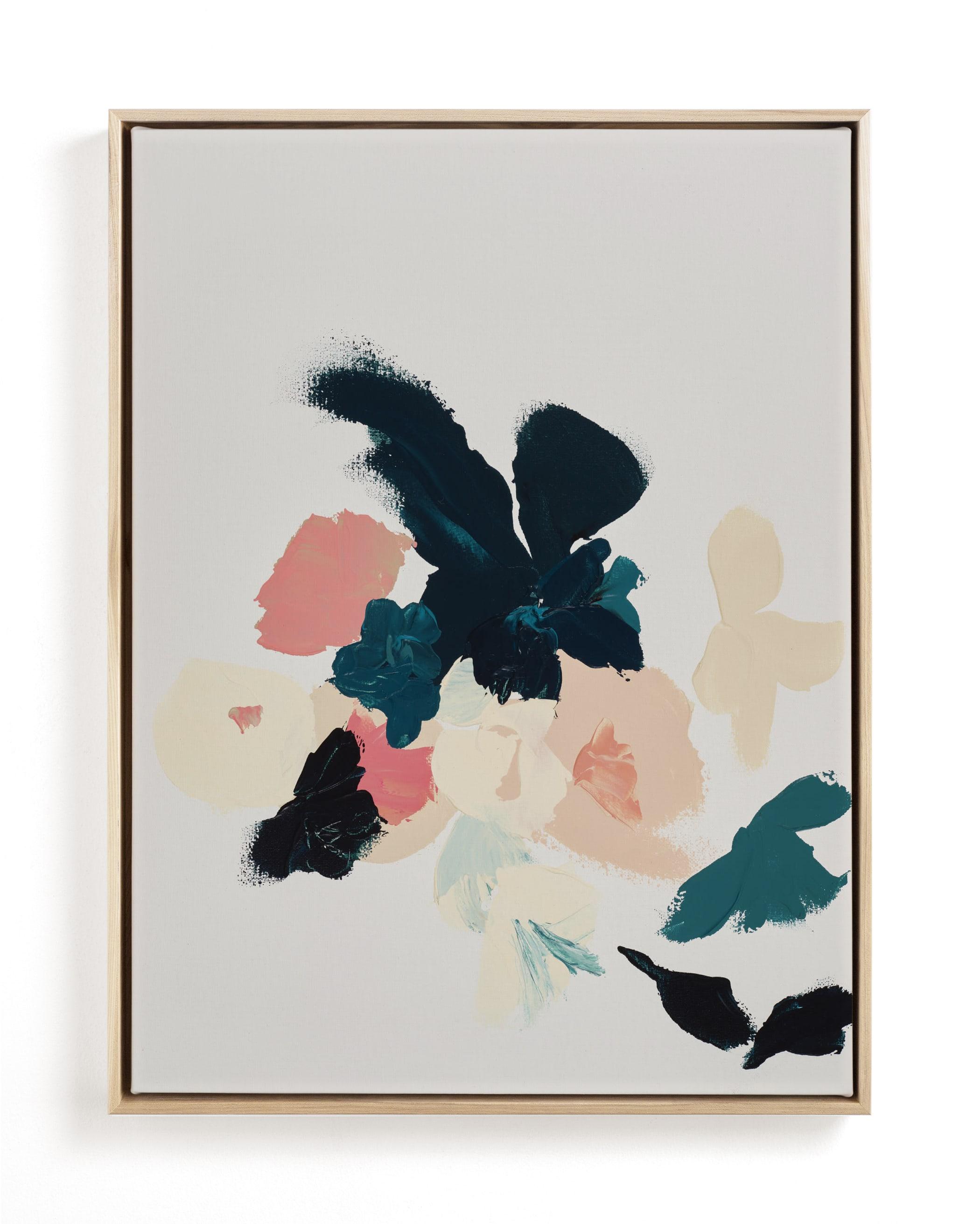 Abstract Botanical Floral Art Print