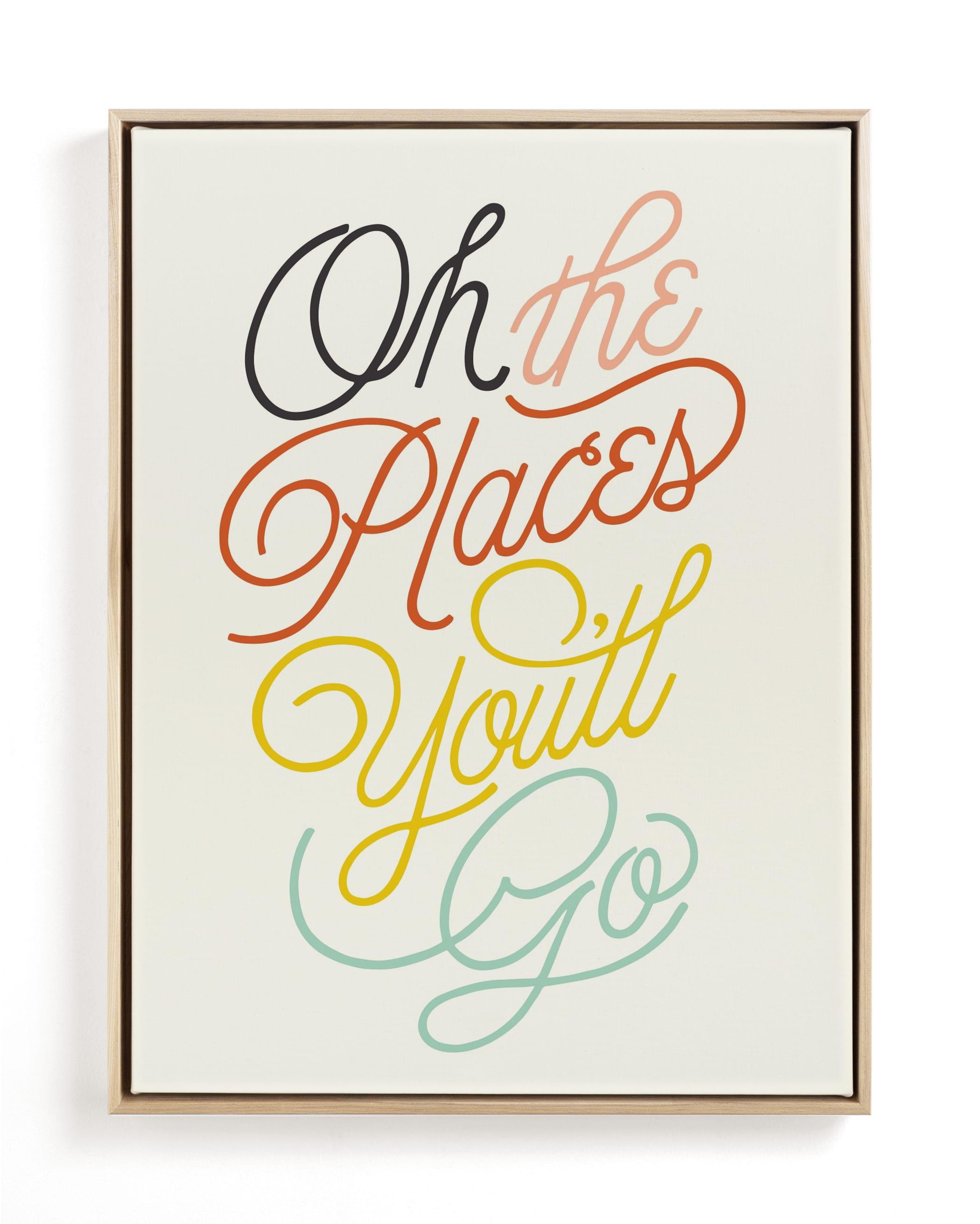 Going Places Children's Art Print