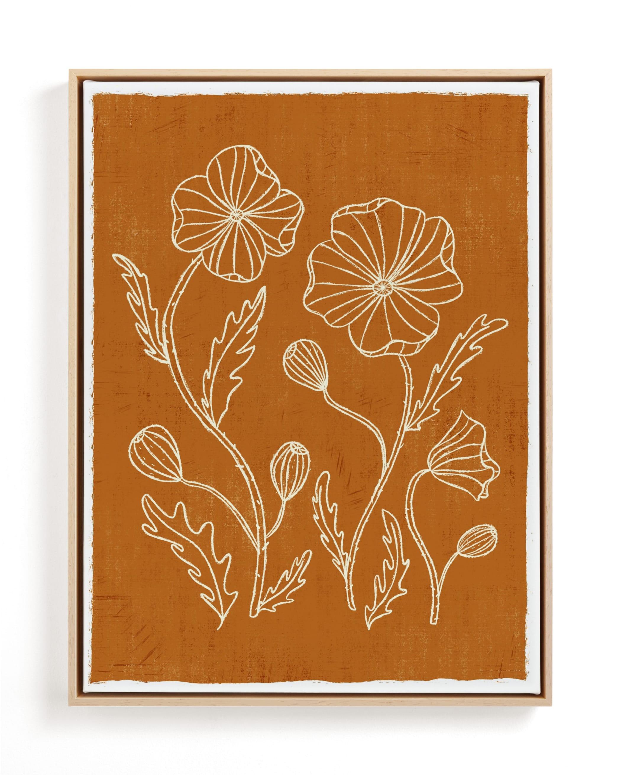 Poppy Joy Art Print