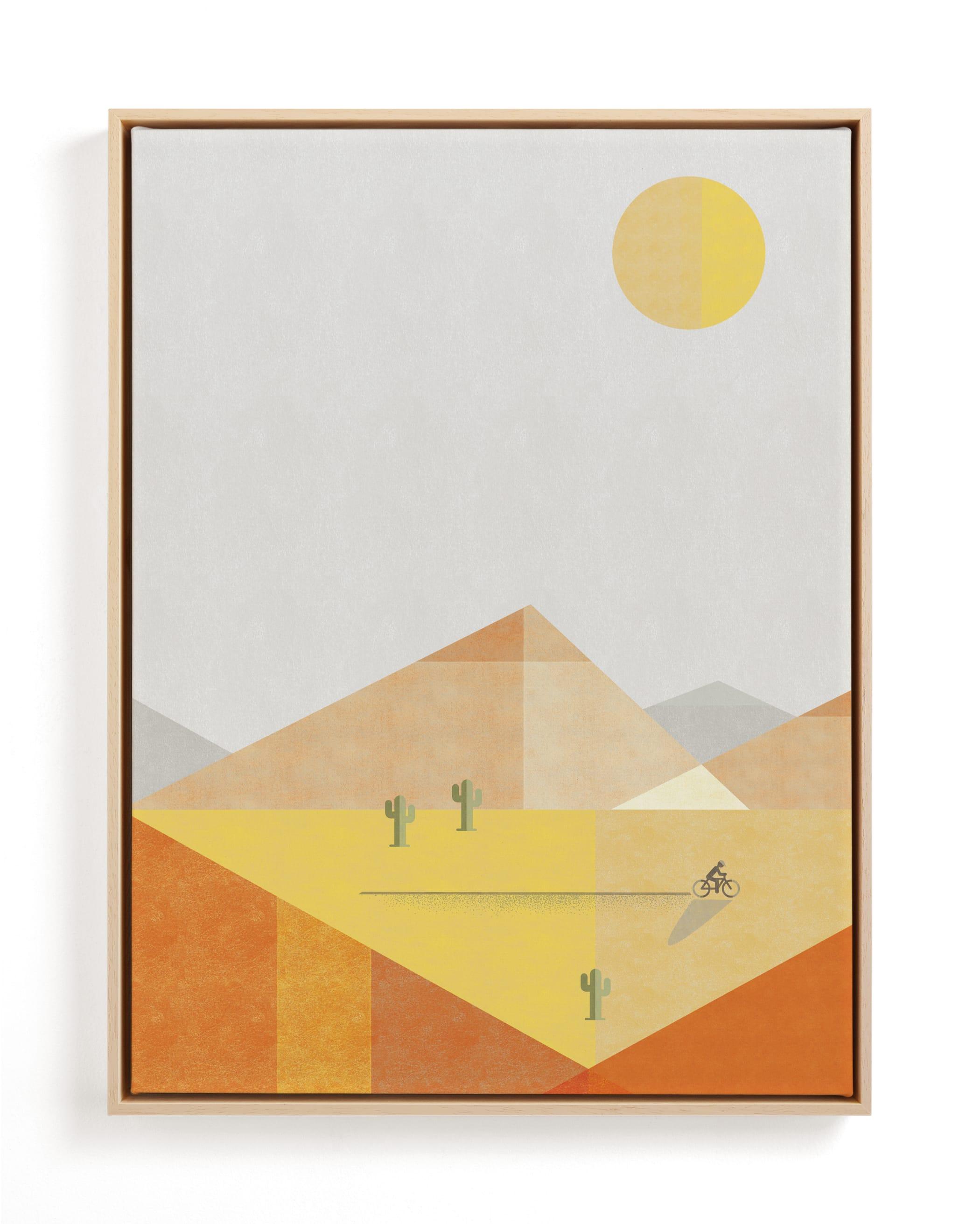Desert Adventure Children's Art Print