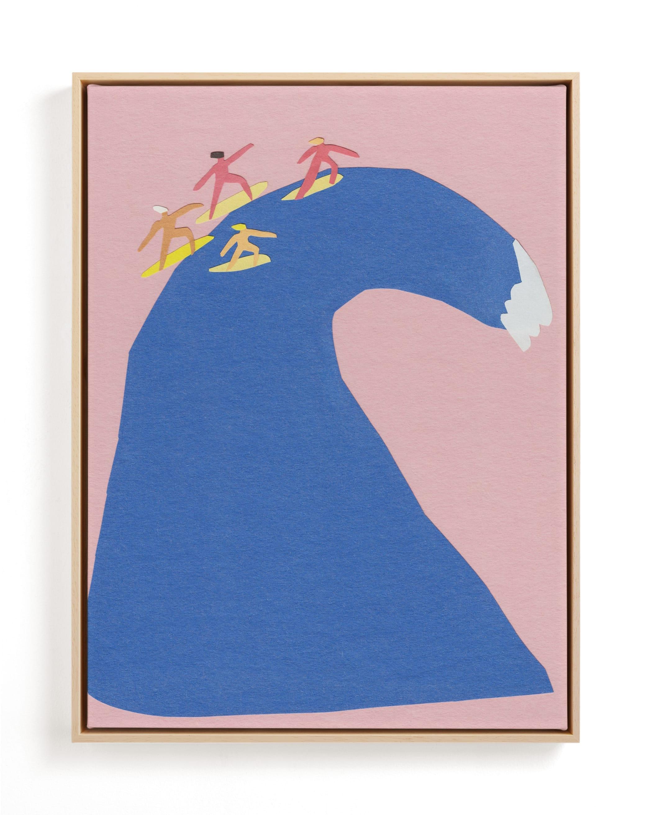 Surf's Up Children's Art Print