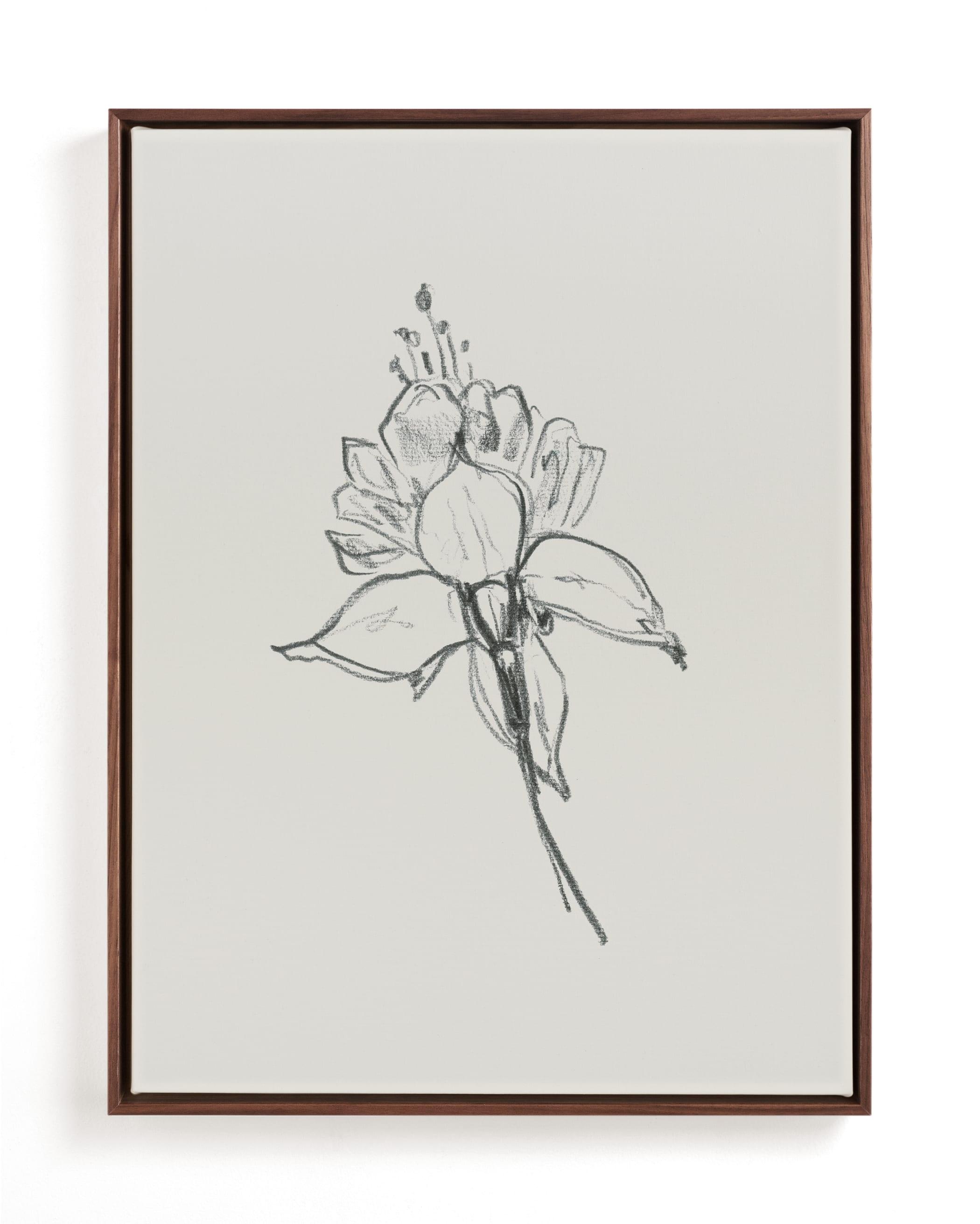 Fuchsia 2 of 2 Diptych Art Print