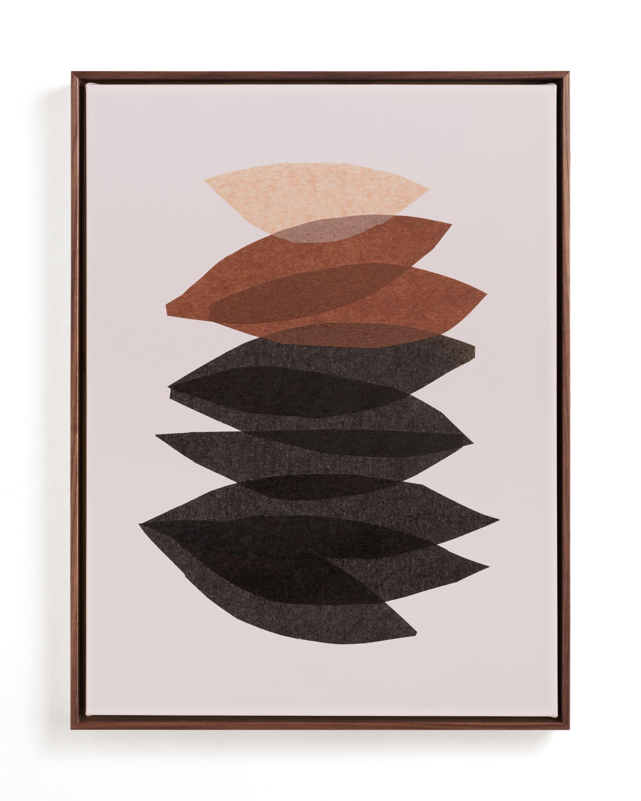 organic stack Art Print
