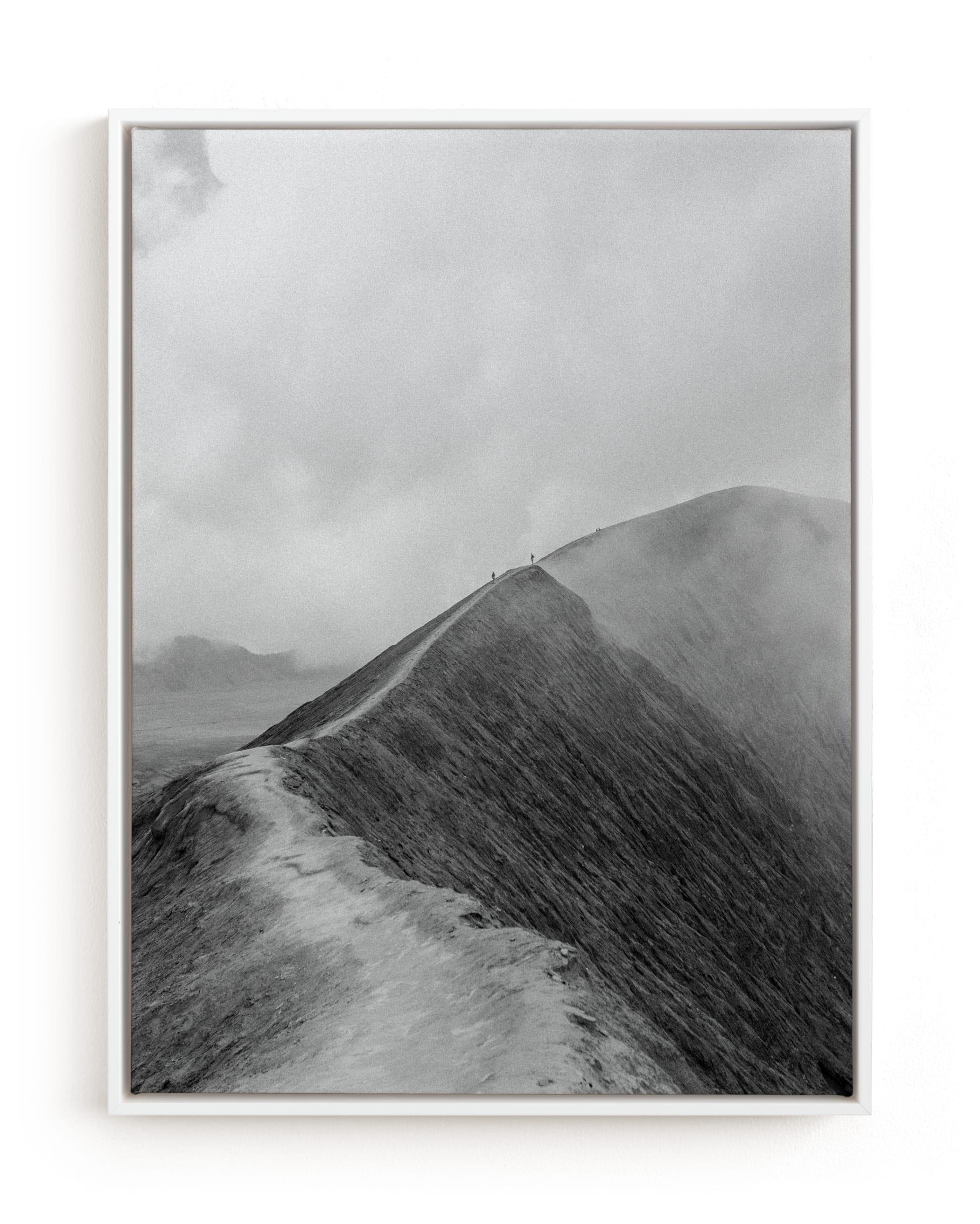 Mighty Mount Bromo Art Print
