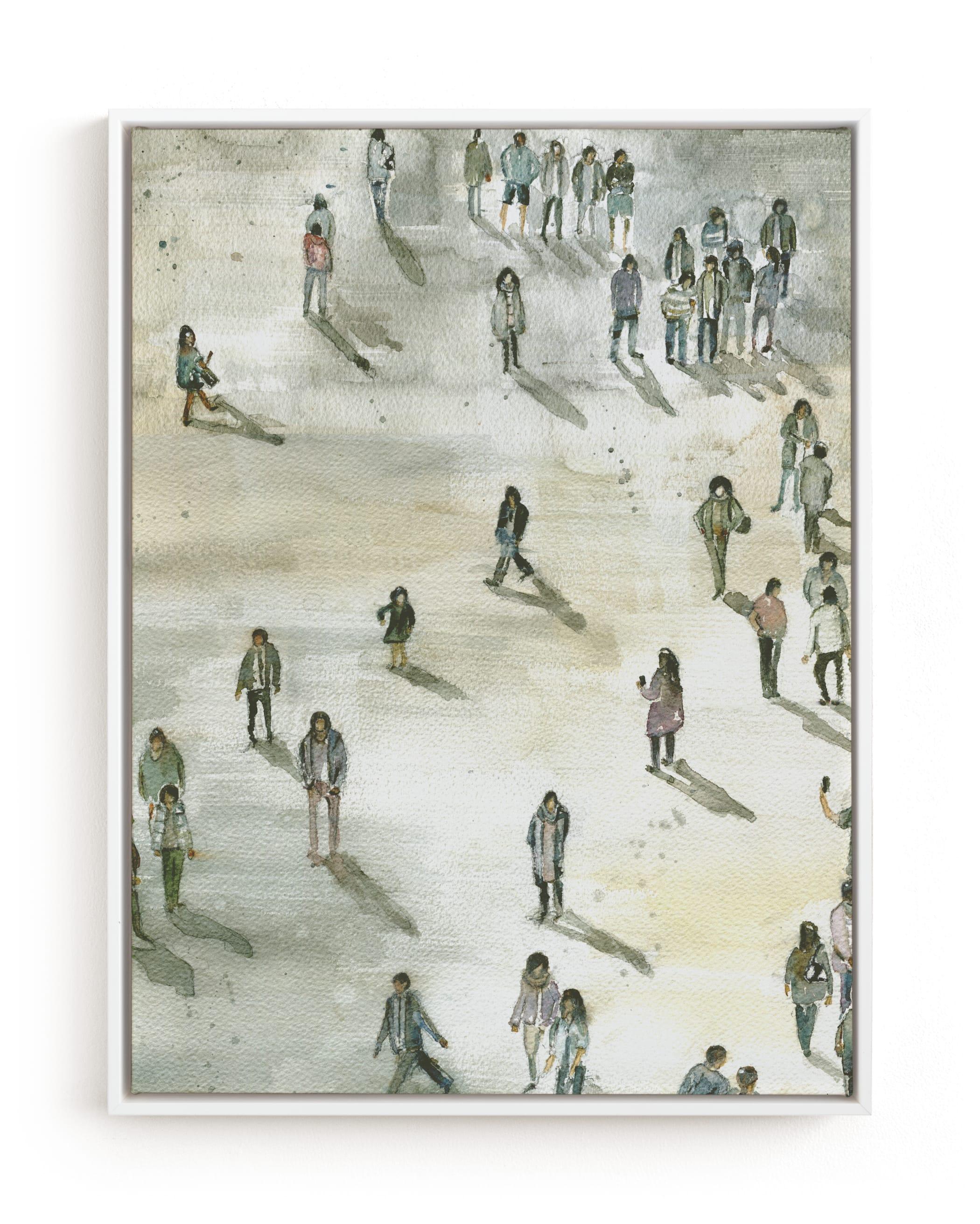Berlin at midday Art Print