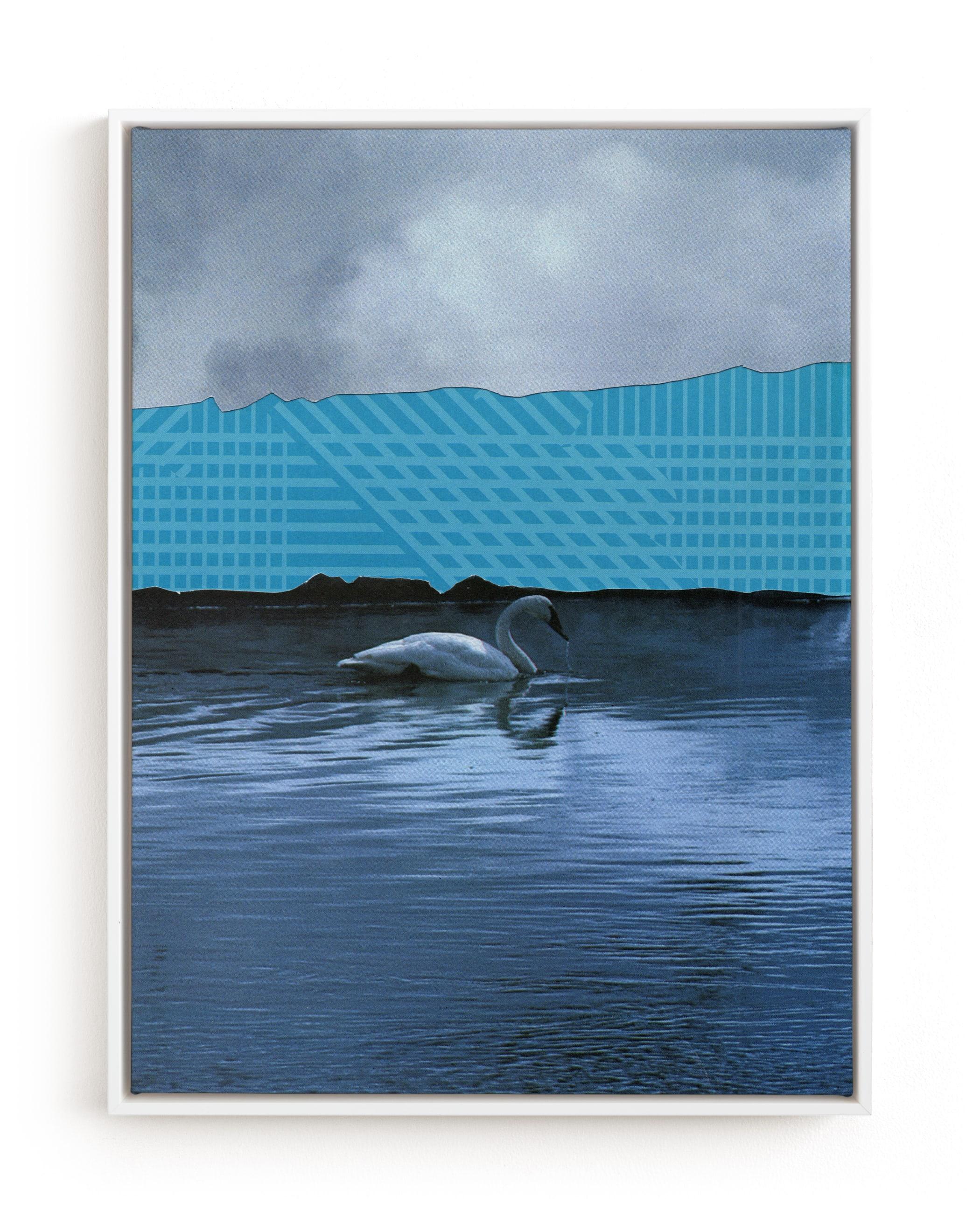 Interrupted Lake Landscape Art Print