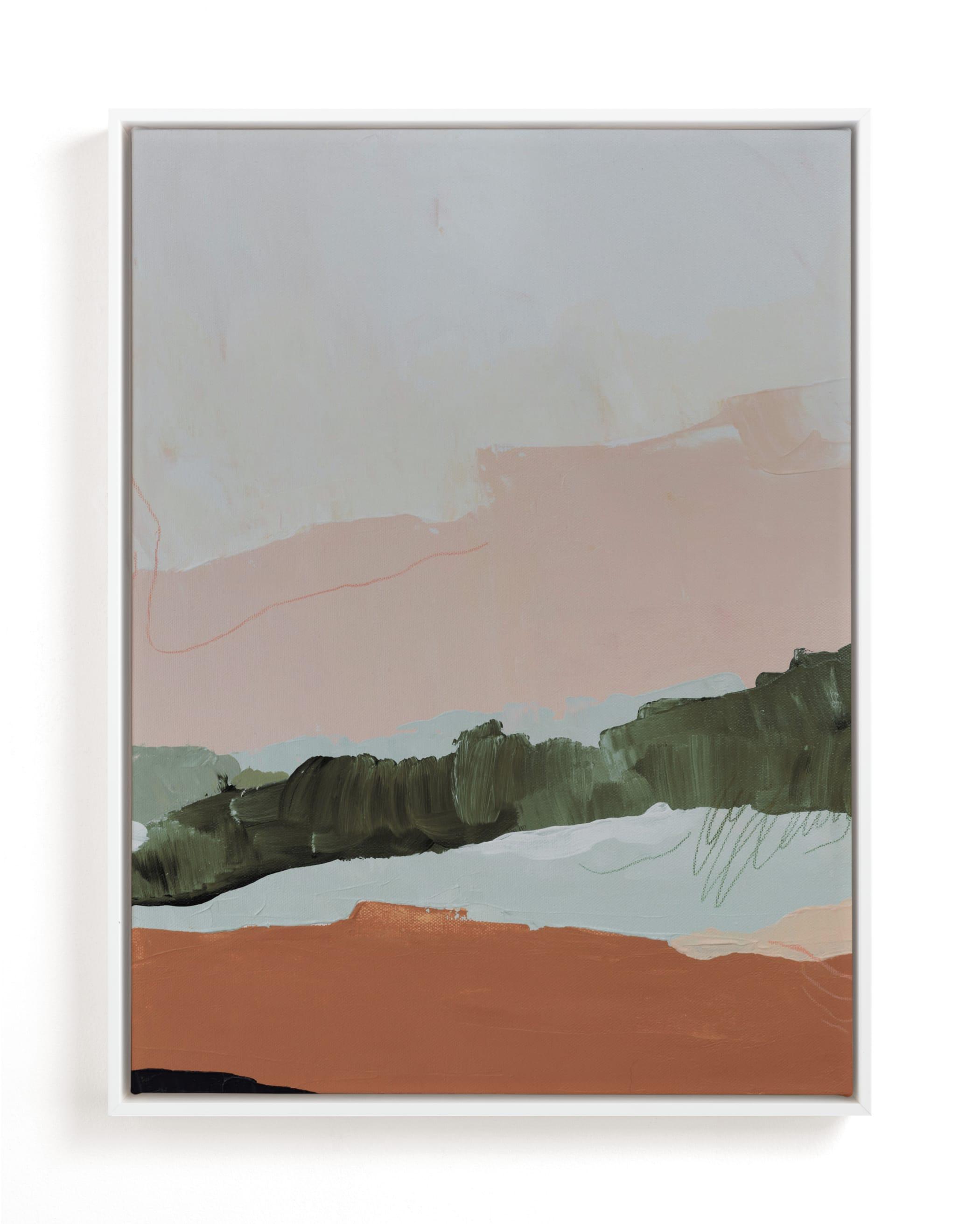 Moving Mountains I Art Print