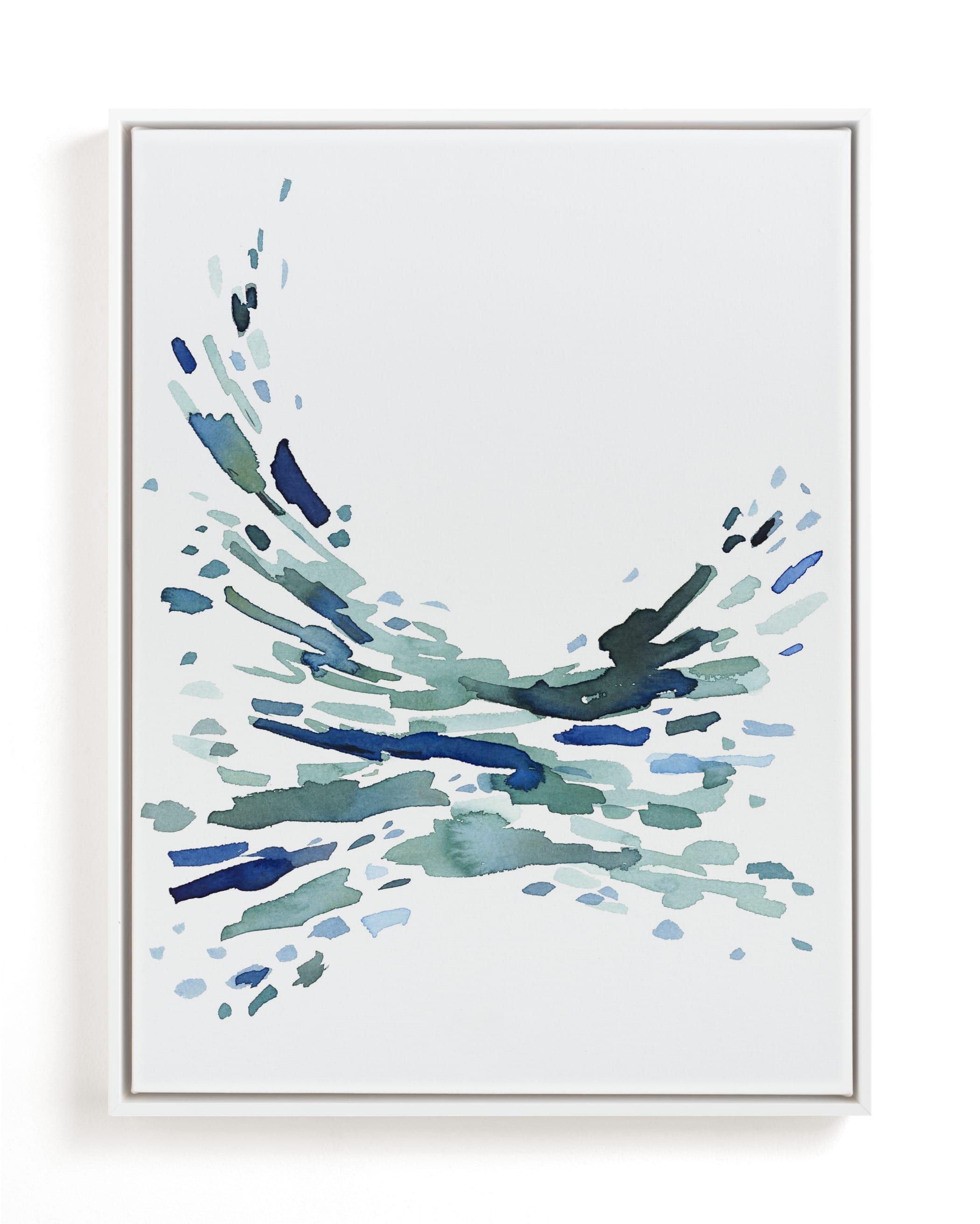 Softly Swept Art Print
