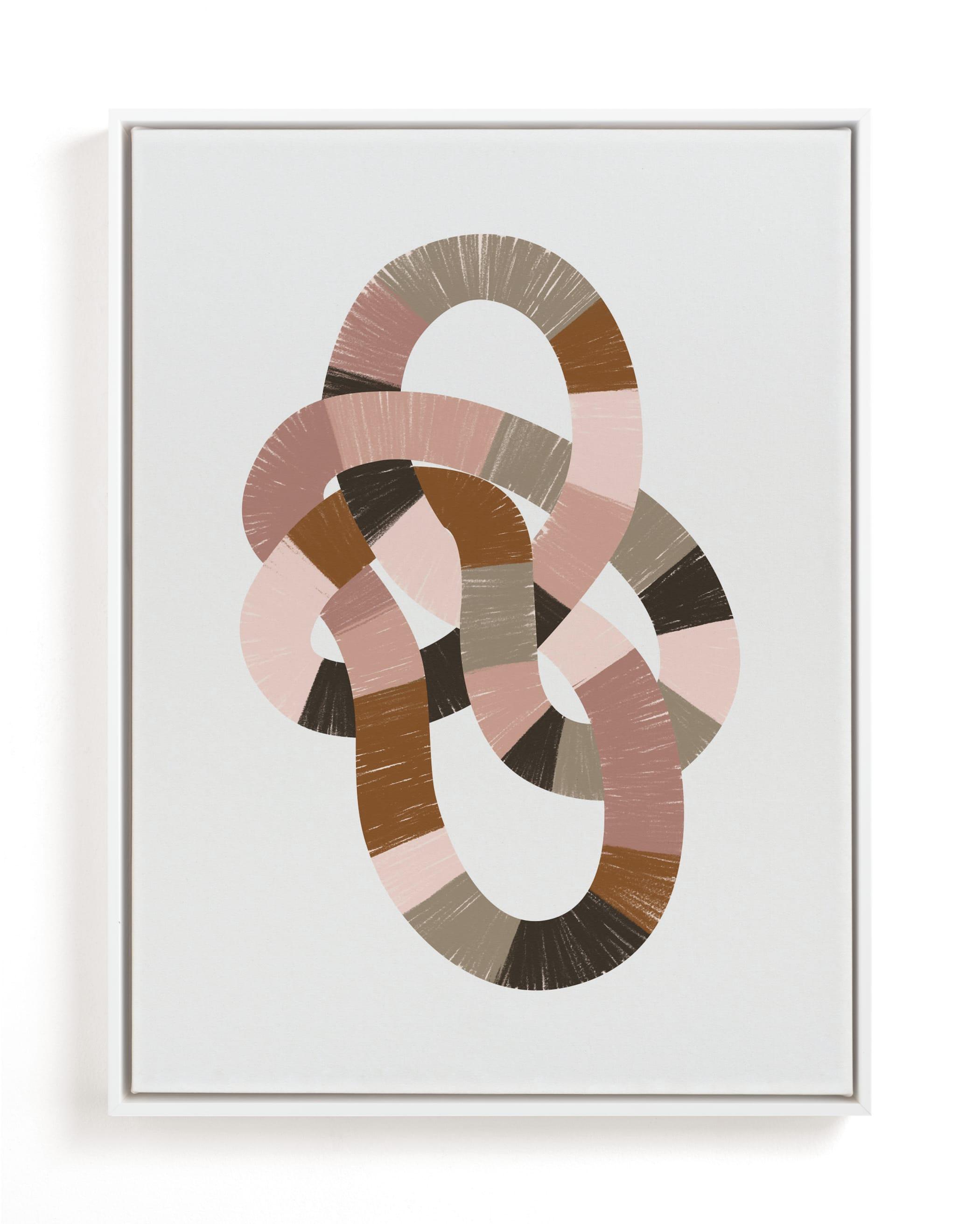 Running in Circles Art Print
