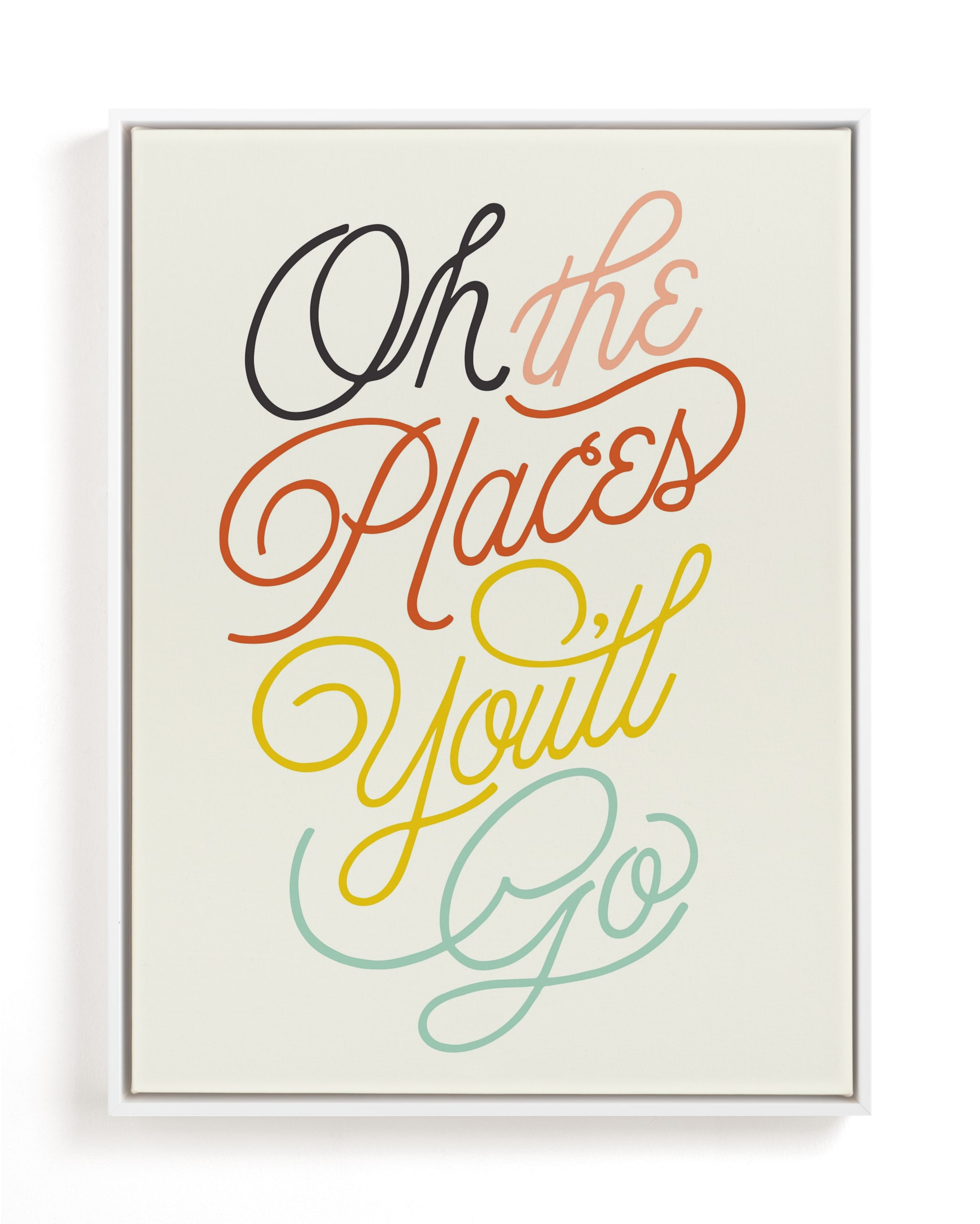 """""""Going Places"""" - Limited Edition Art Print by Yours Madly in beautiful frame options and a variety of sizes."""