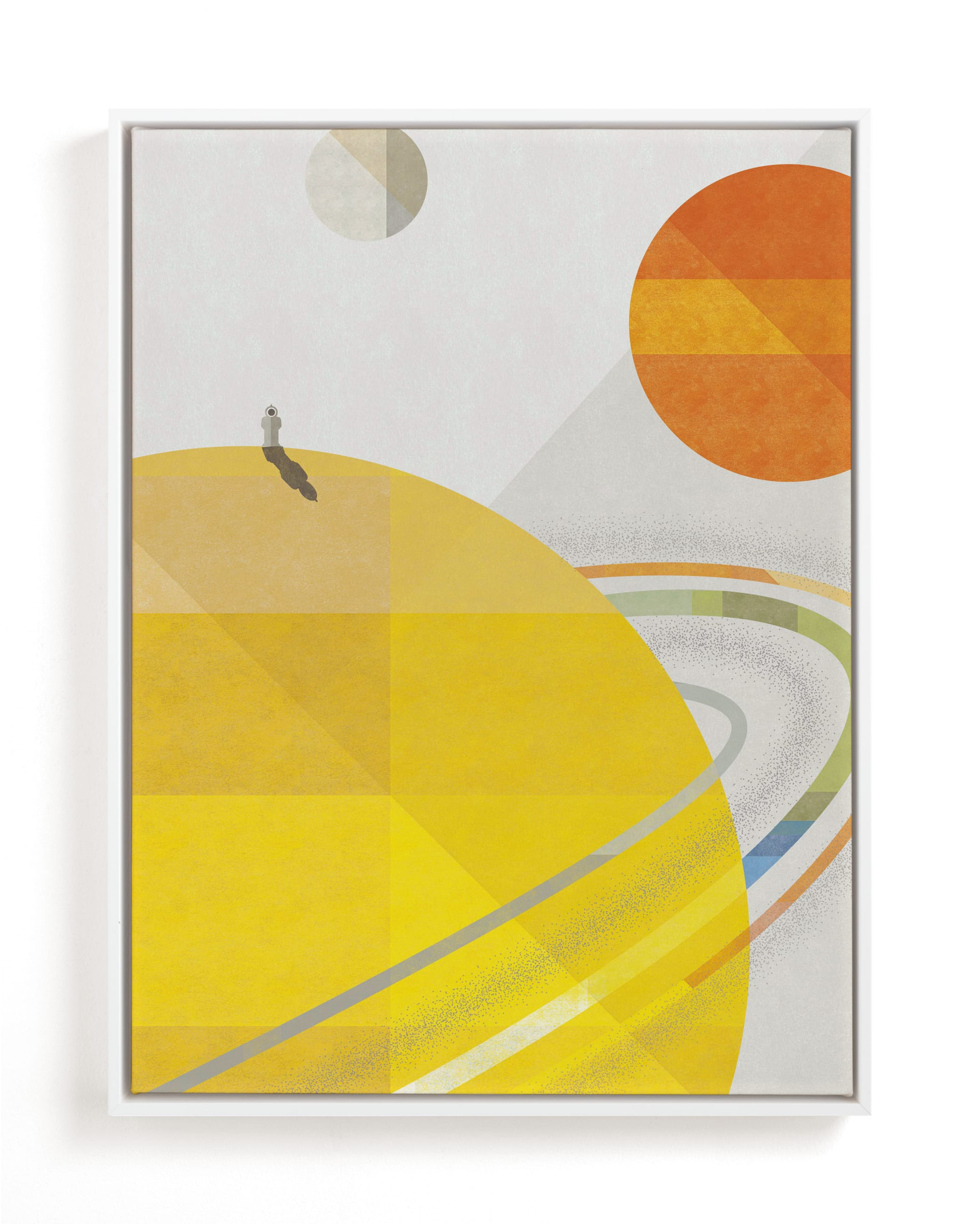 """""""Space Voyage"""" - Limited Edition Art Print by Robert and Stella in beautiful frame options and a variety of sizes."""