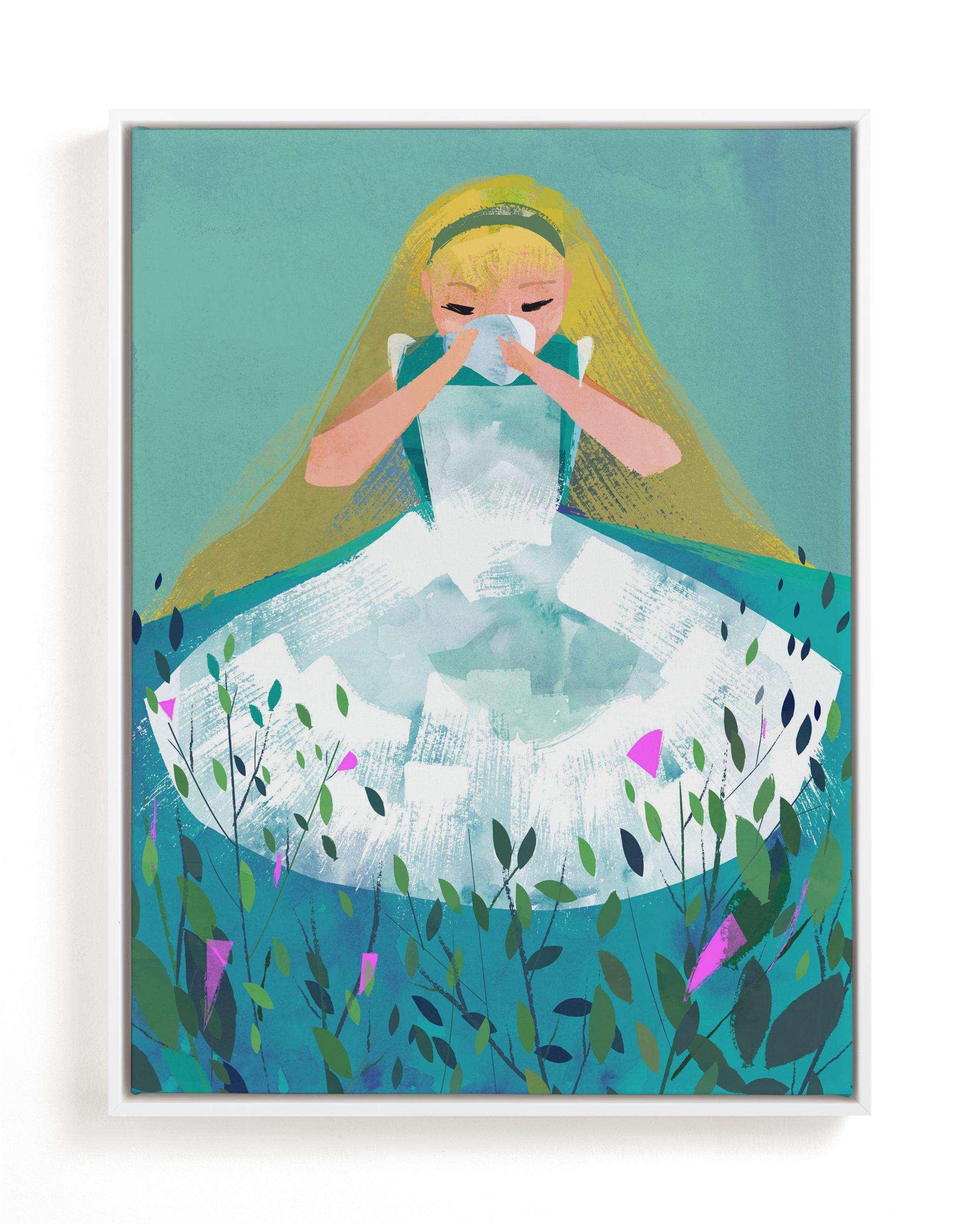 Alice Children's Art Print