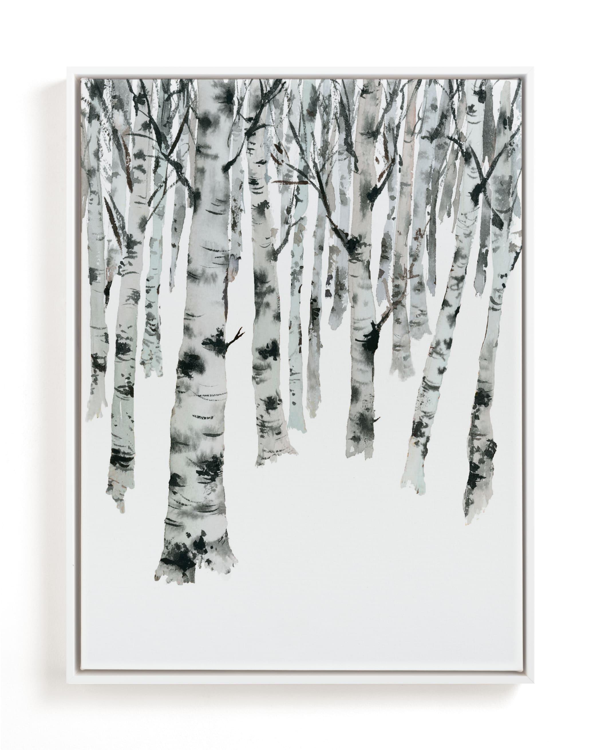 Birch Forest Children's Art Print