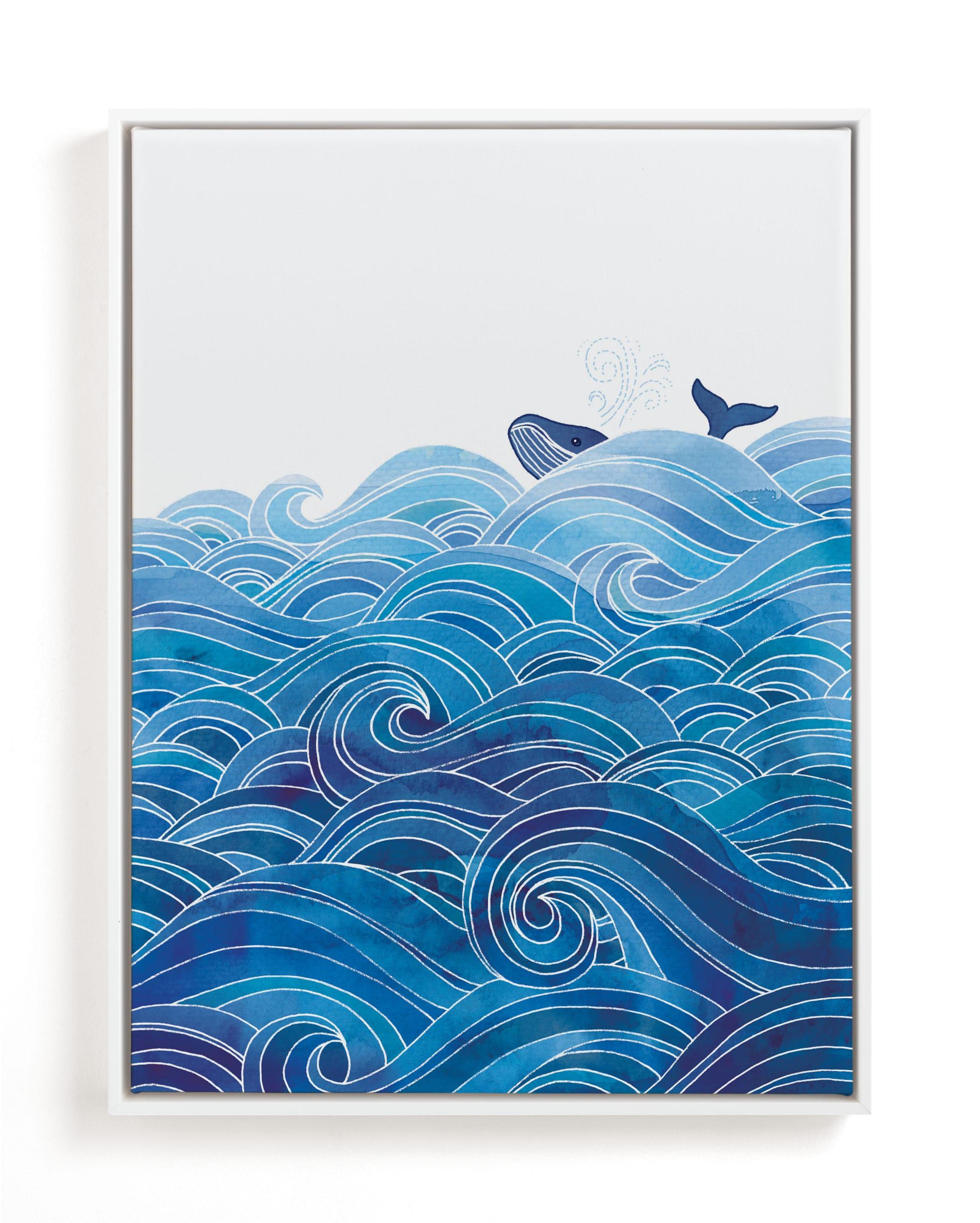 seas the day Children's Art Print
