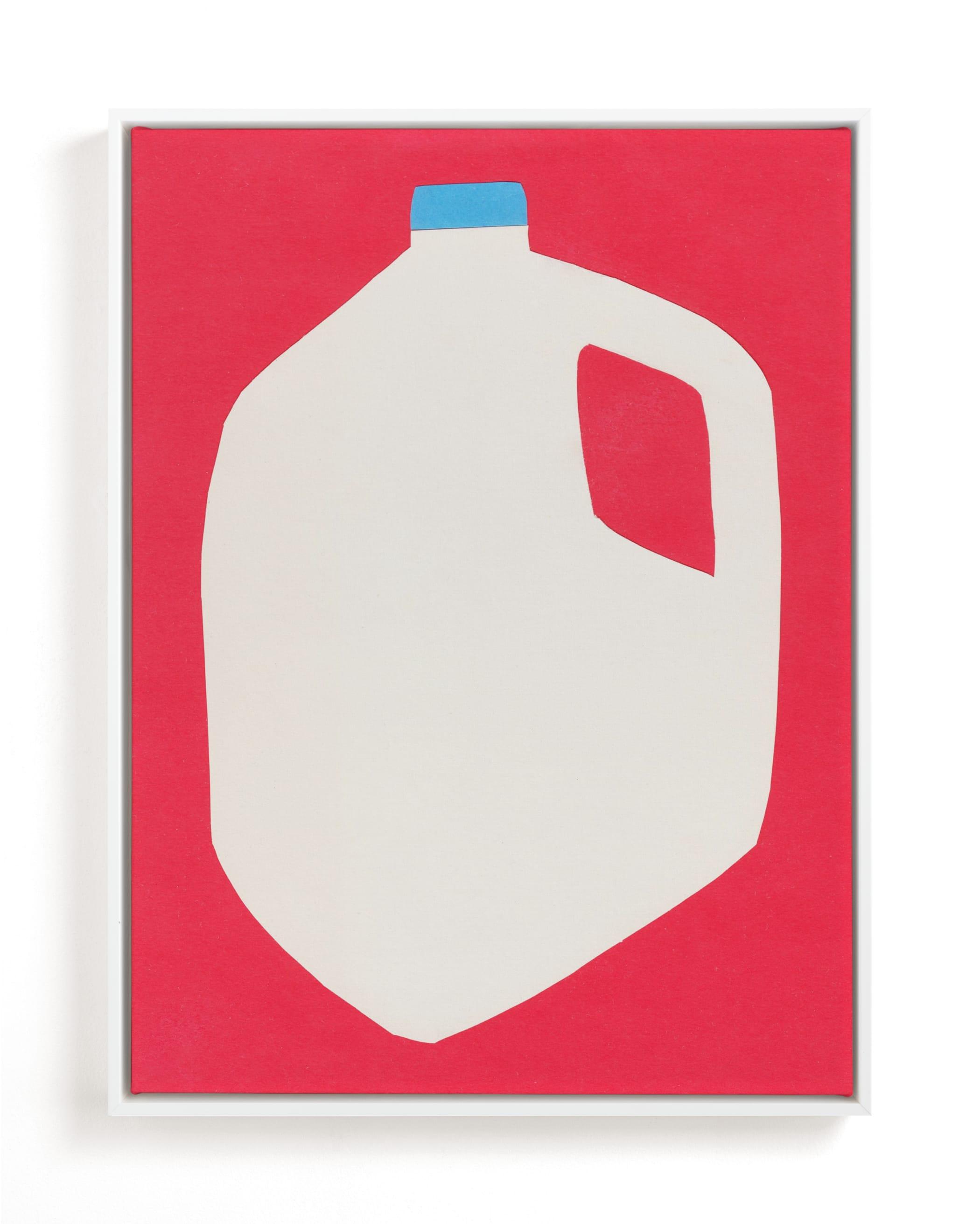 Two Percent Milk Children's Art Print