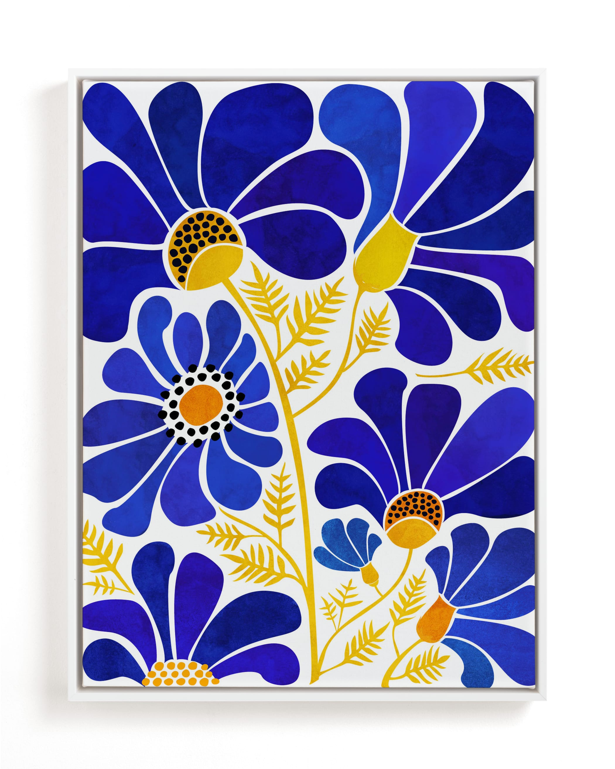 The Happiest Flowers Children's Art Print