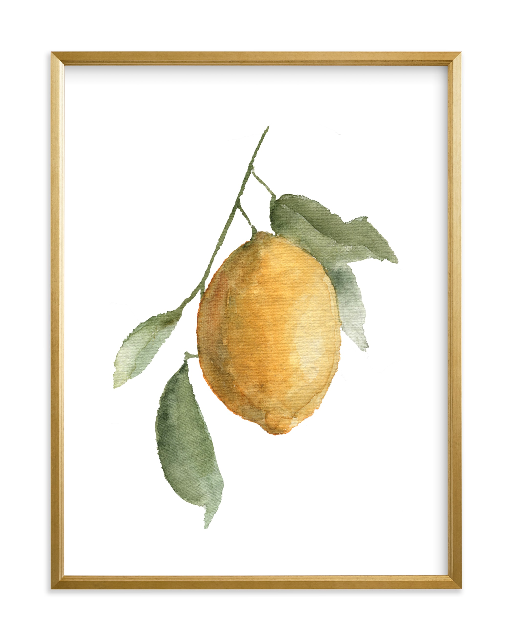 """Lemon Branch"" by Jess Blazejewski in beautiful frame options and a variety of sizes."