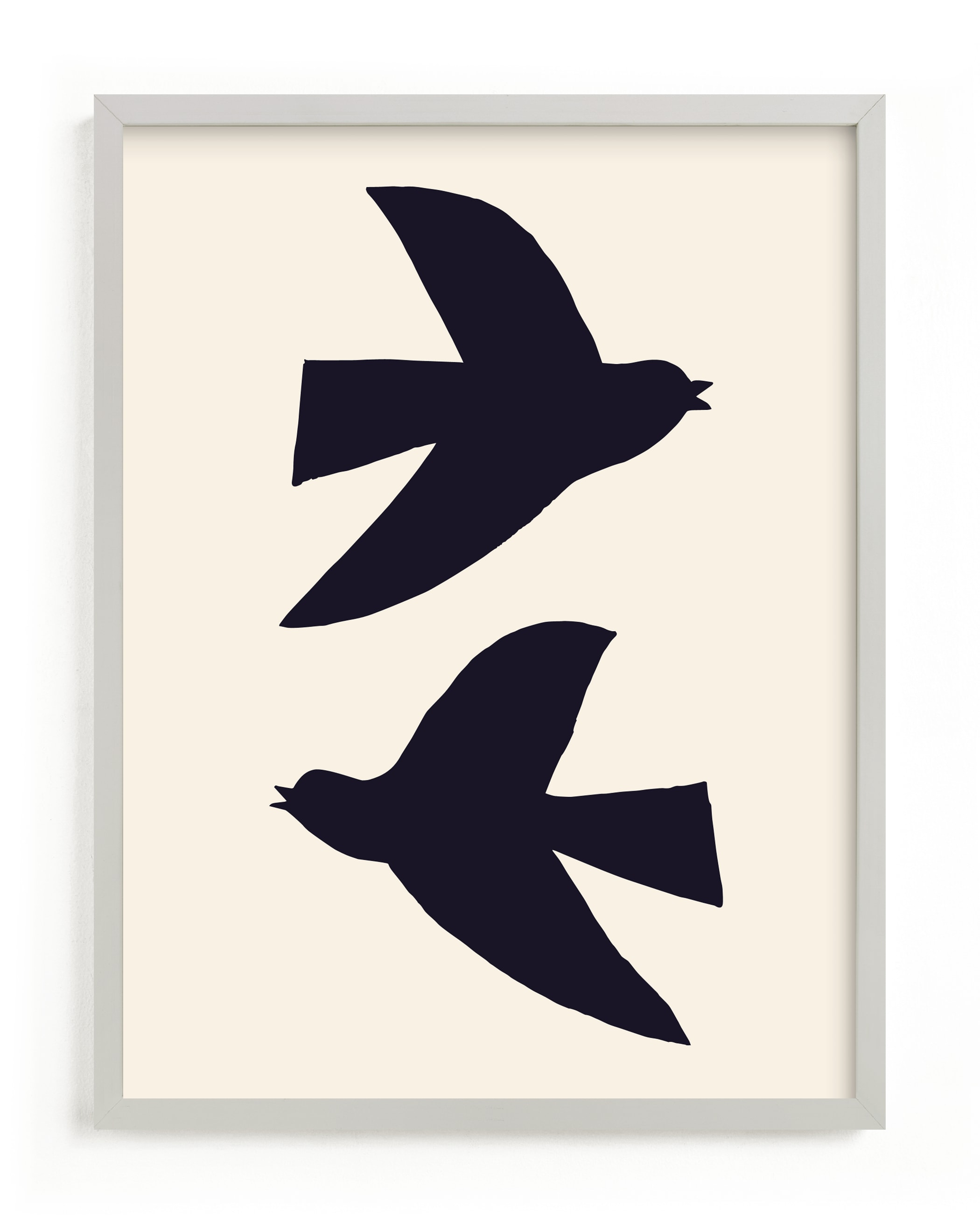 """""""Birds"""" - Limited Edition Art Print by Alexandra Dzh in beautiful frame options and a variety of sizes."""