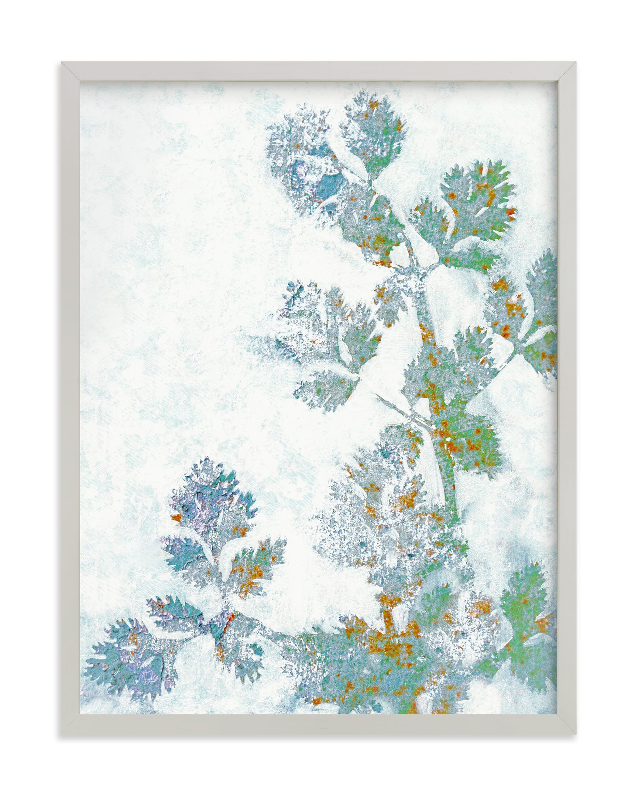 """""""Rustic Herbs"""" - Limited Edition Art Print by Courtney Crane in beautiful frame options and a variety of sizes."""