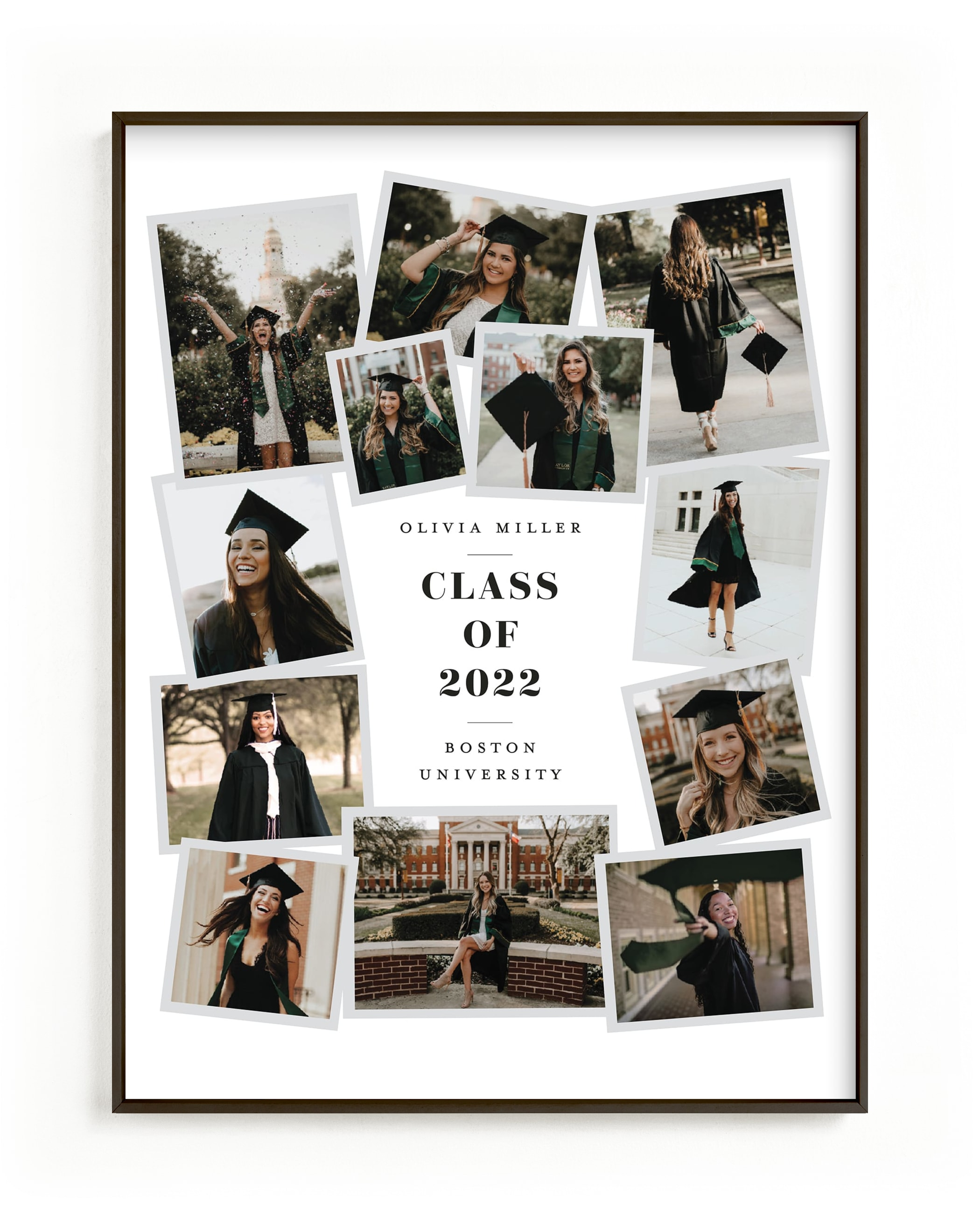 Grad Collage I Custom Photo Art Print
