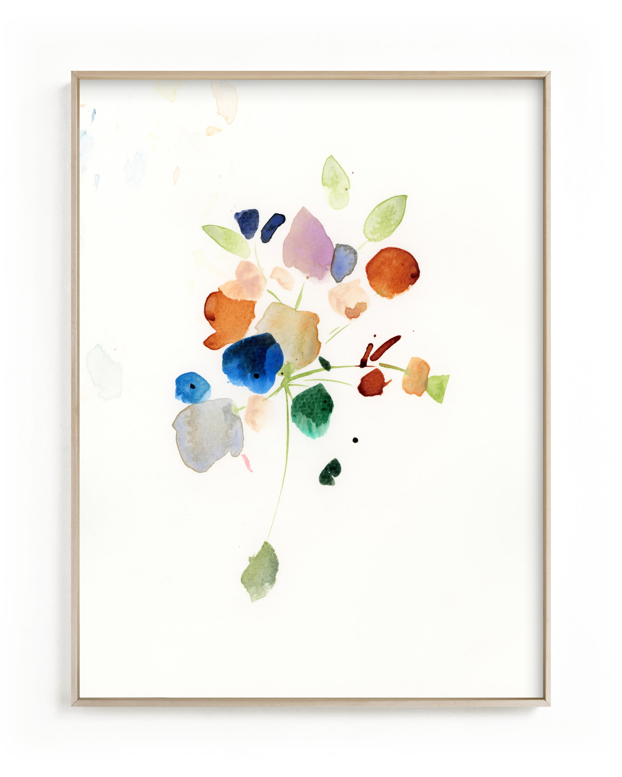 """""""Impromptu Bouquet"""" - Limited Edition Art Print by Lindsay Megahed in beautiful frame options and a variety of sizes."""