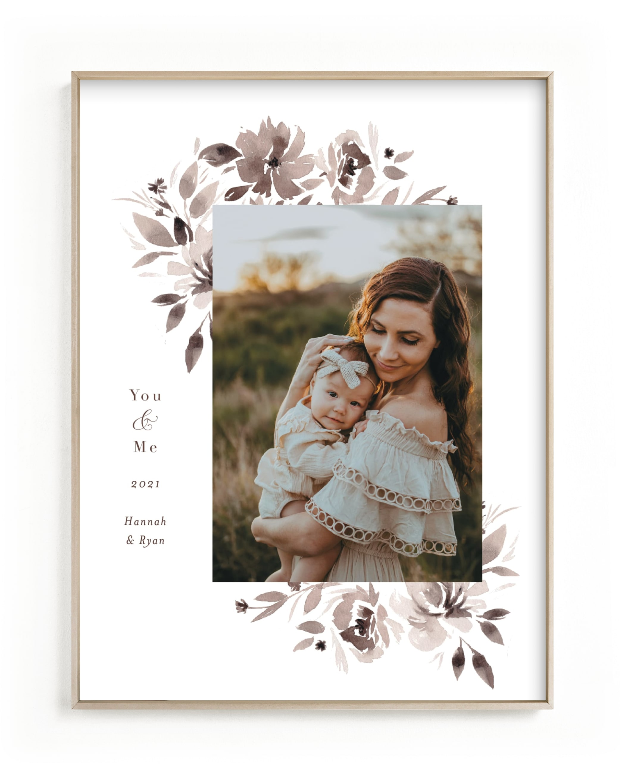 sepia Custom Photo Art Print