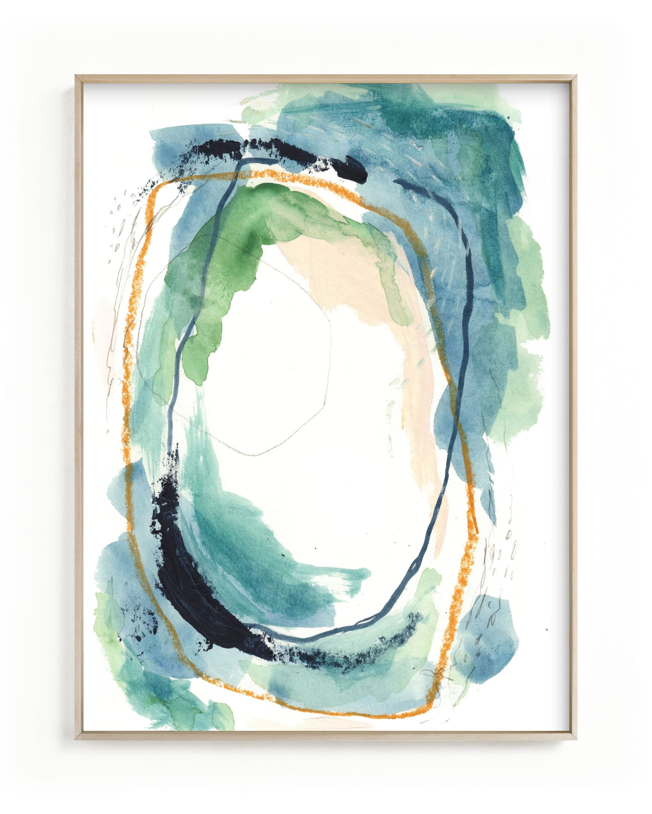"""""""below"""" - Limited Edition Art Print by Kayla King in beautiful frame options and a variety of sizes."""